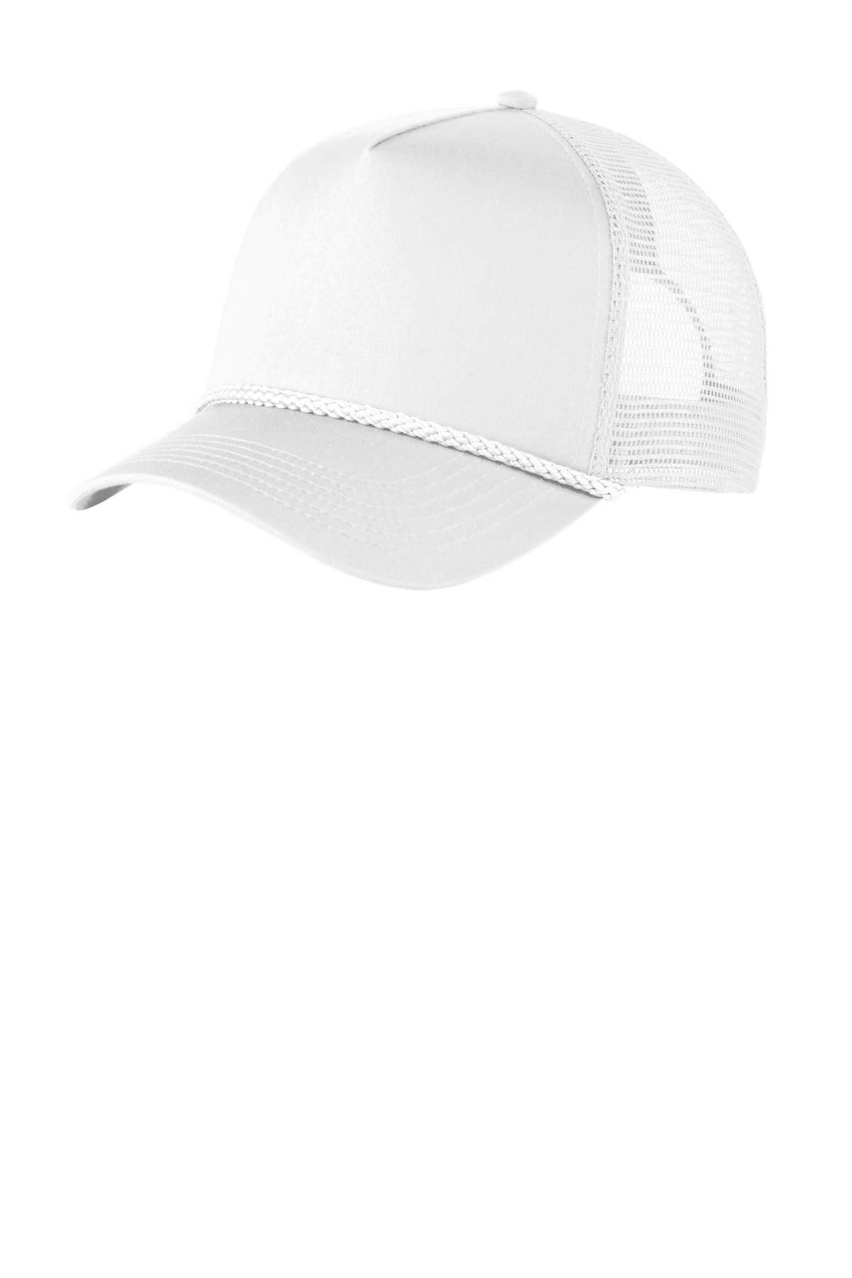 Port Authority ®  5-Panel Snapback Cap. C932 - White