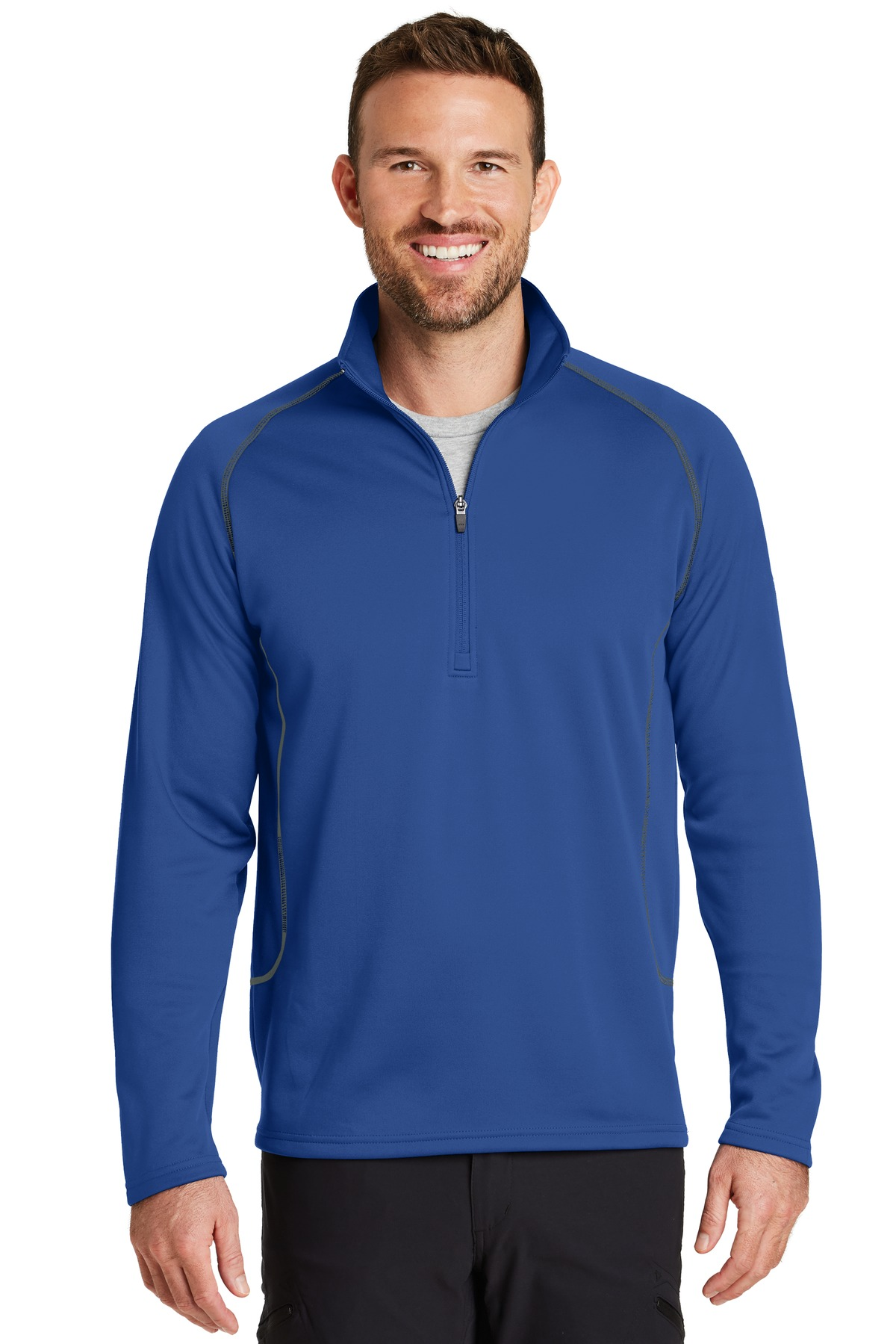 Eddie Bauer 1/2-Zip Base Layer Fleece. EB236
