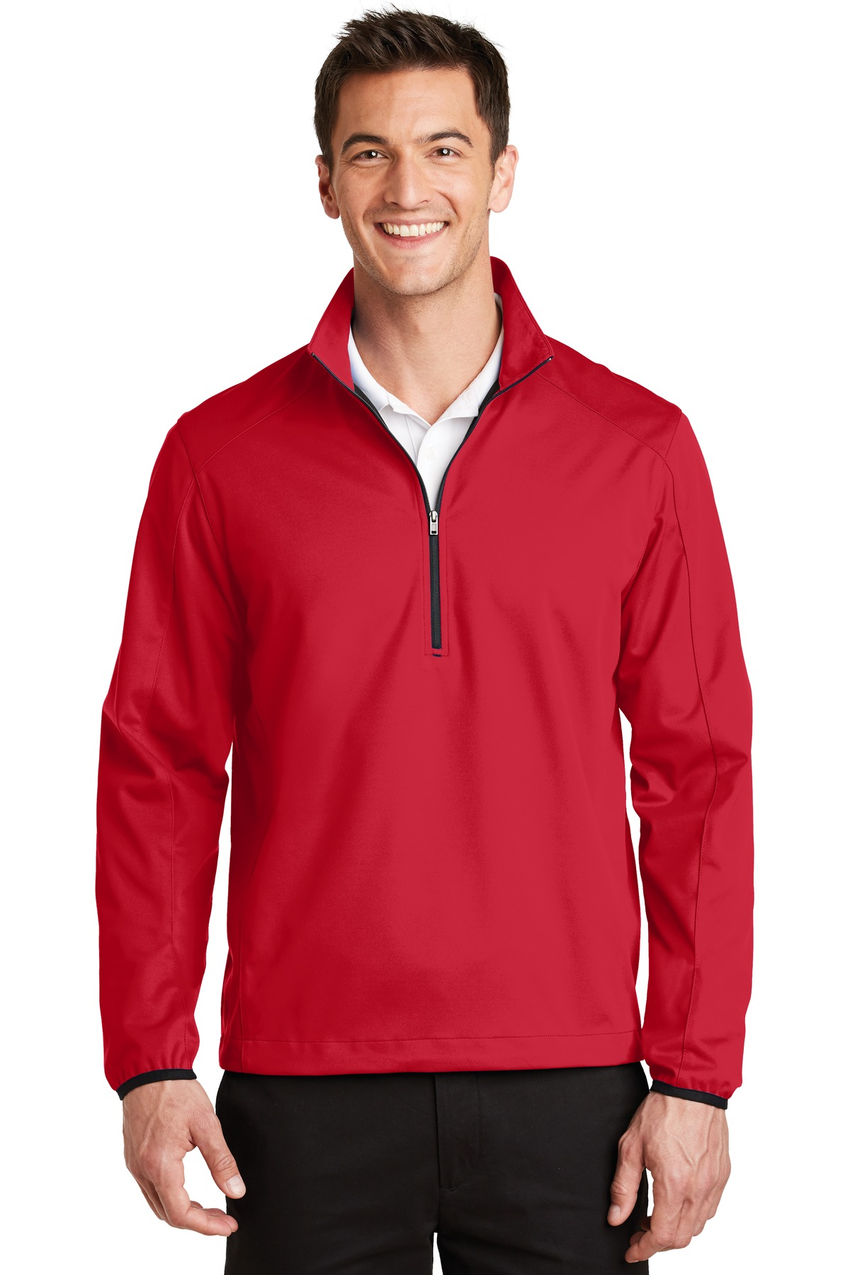 Port Authority ®  Active 1/2-Zip Soft Shell Jacket. J716 - Rich Red