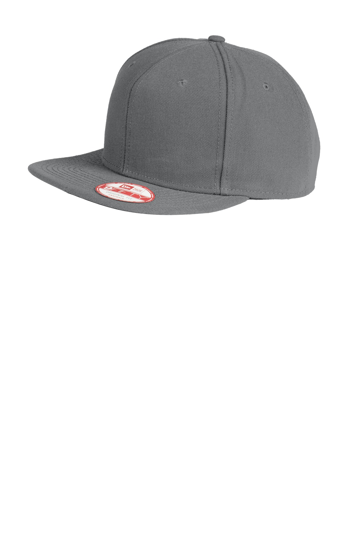 New Era ®  Original Fit Flat Bill Snapback Cap. NE402 - Graphite