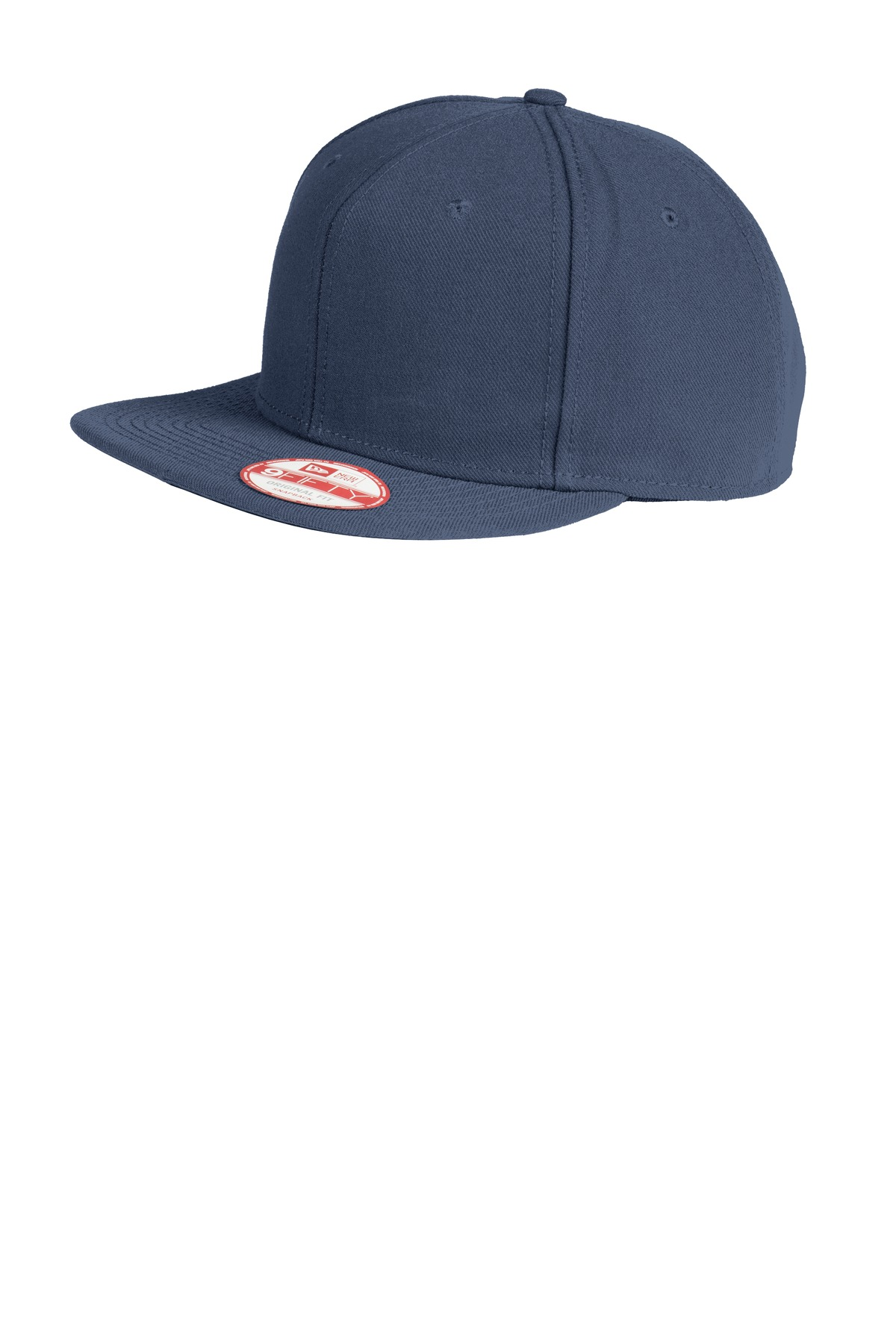 New Era ®  Original Fit Flat Bill Snapback Cap. NE402 - League Navy