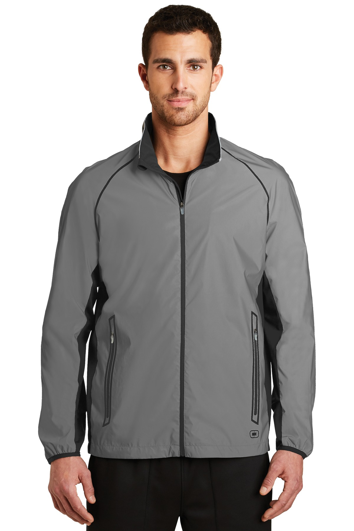 OGIO ®  ENDURANCE Flash Jacket. OE711 - Reflective/ Blacktop