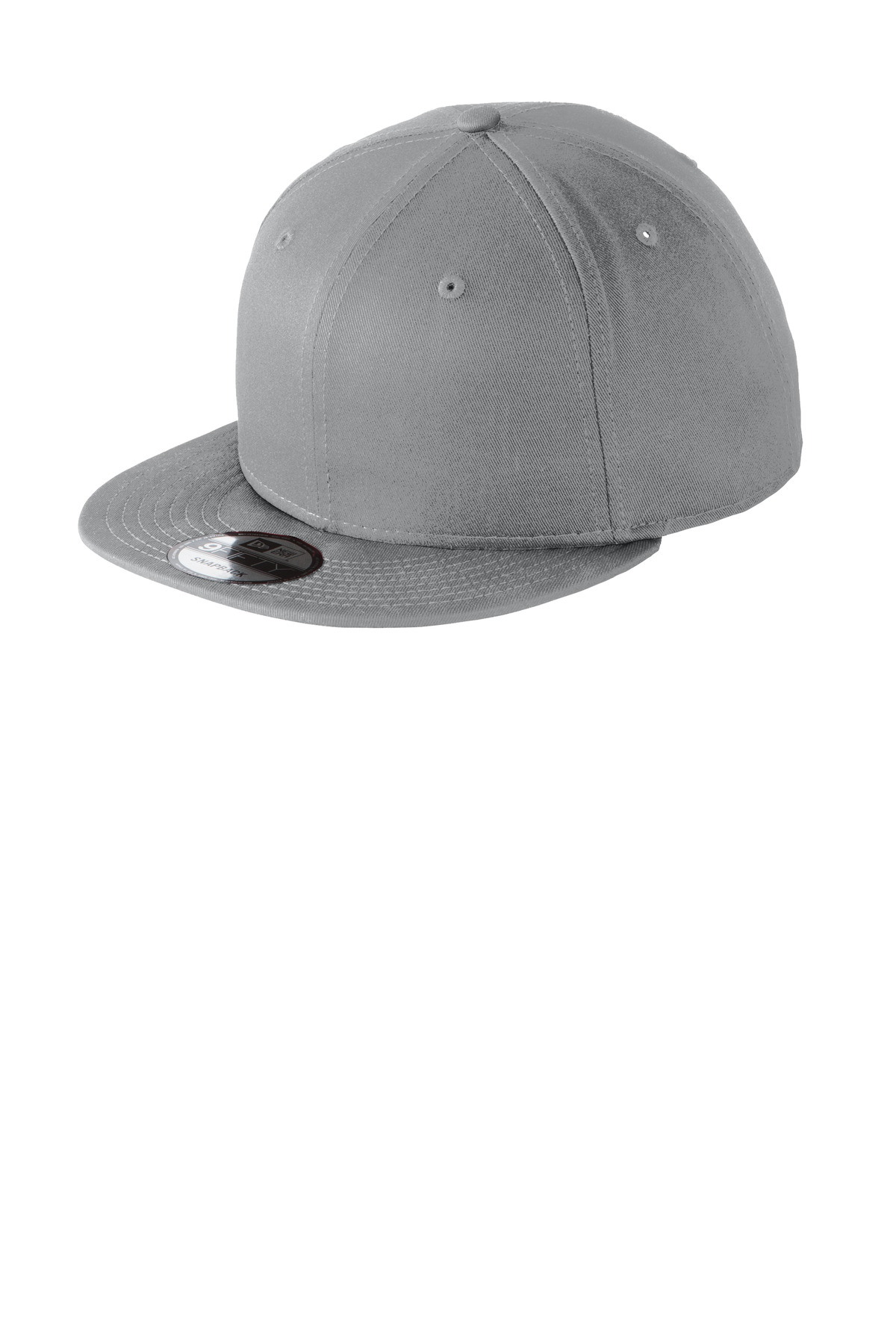 New Era ®  - Flat Bill Snapback Cap. NE400 - Grey