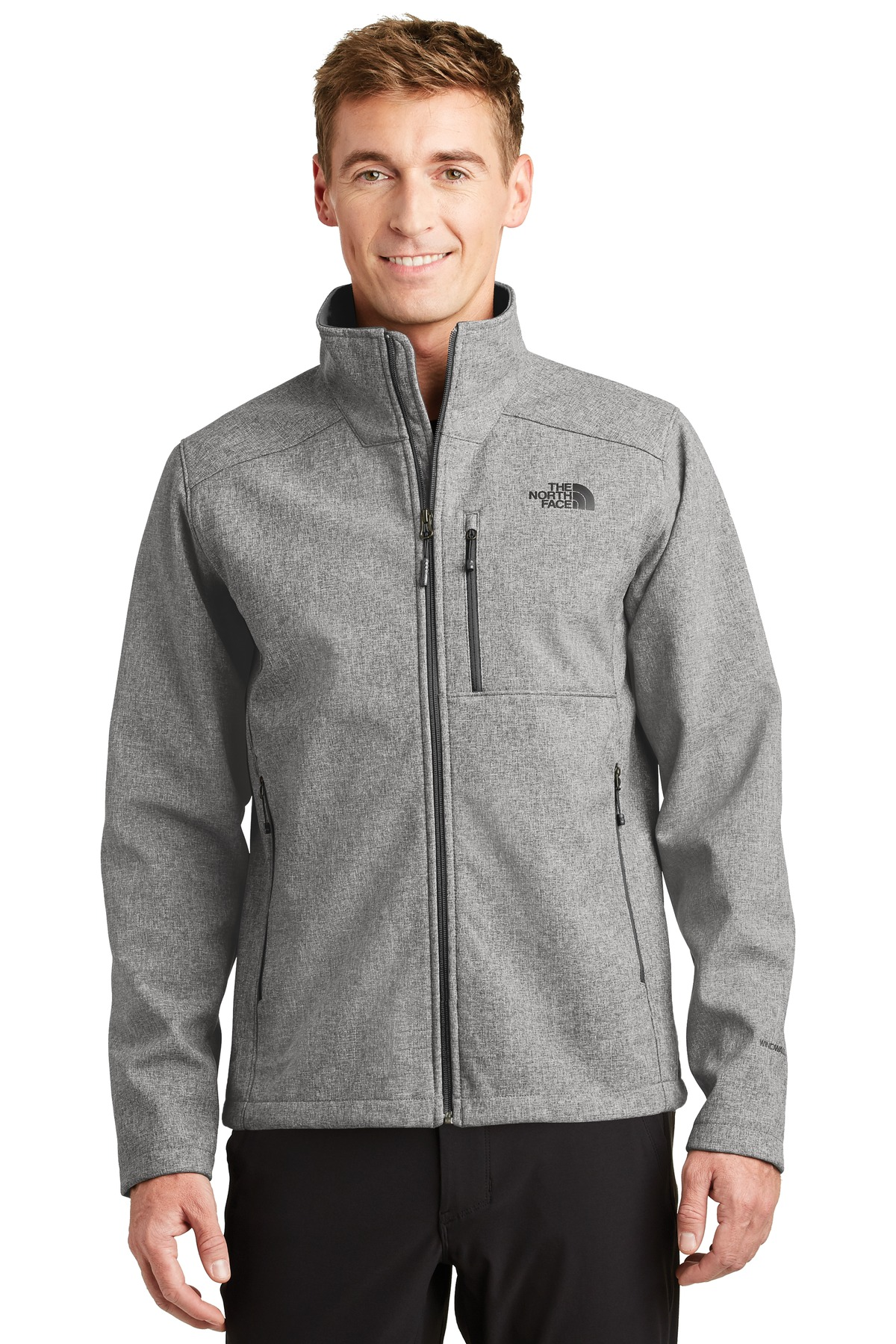 The North Face  ®  Apex Barrier Soft Shell Jacket. NF0A3LGT - TNF Medium Grey Heather