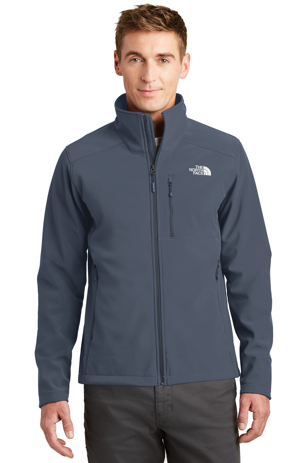 The North Face  ®  Apex Barrier Soft Shell Jacket. NF0A3LGT - Urban Navy