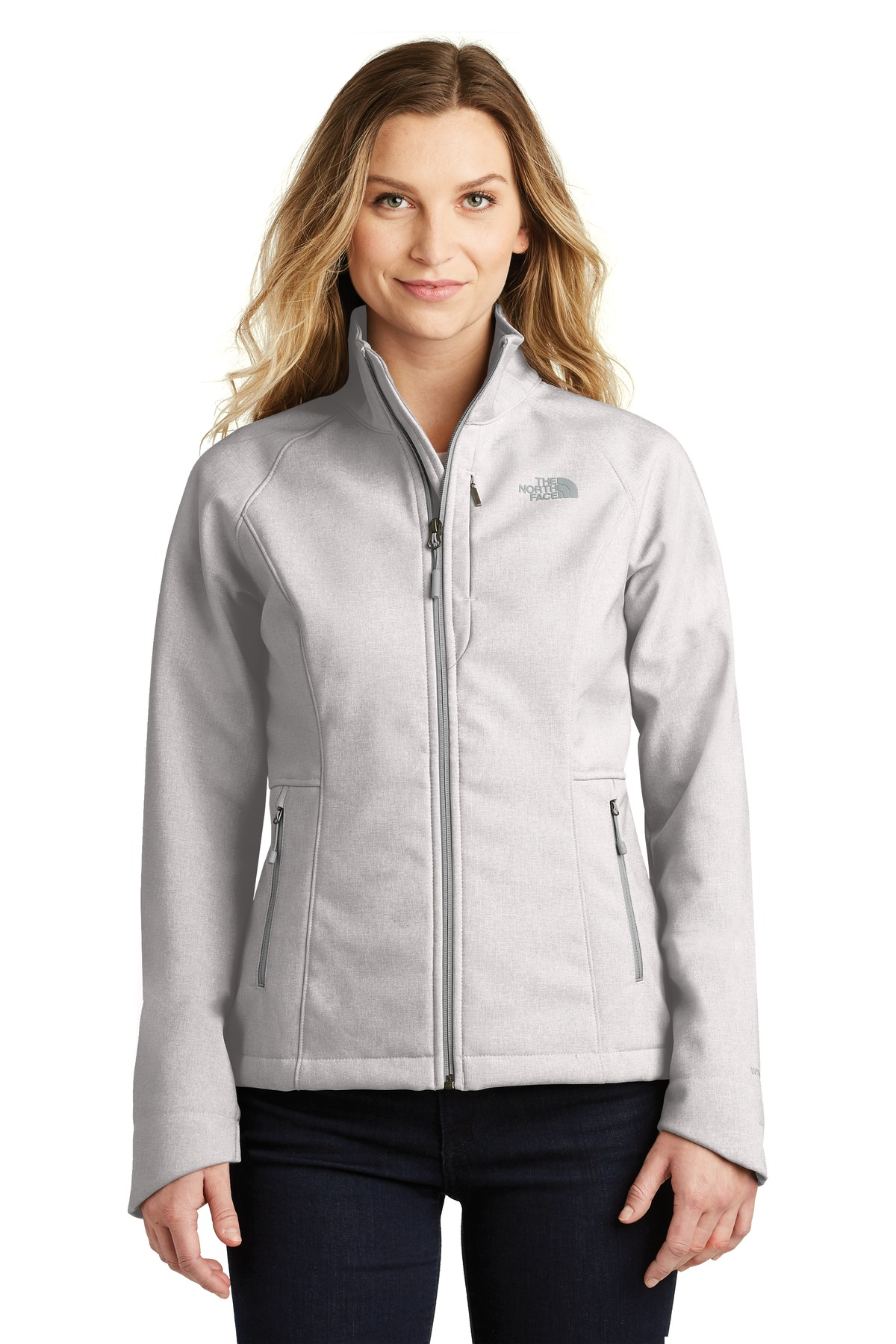 The North Face  ®  Ladies Apex Barrier Soft Shell Jacket. NF0A3LGU - TNF Light Grey Heather