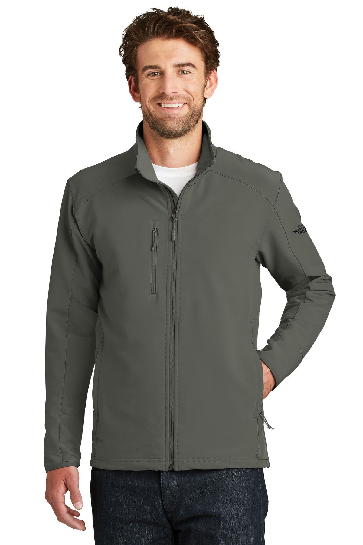 The North Face  ®  Tech Stretch Soft Shell Jacket. NF0A3LGV - Asphalt Grey