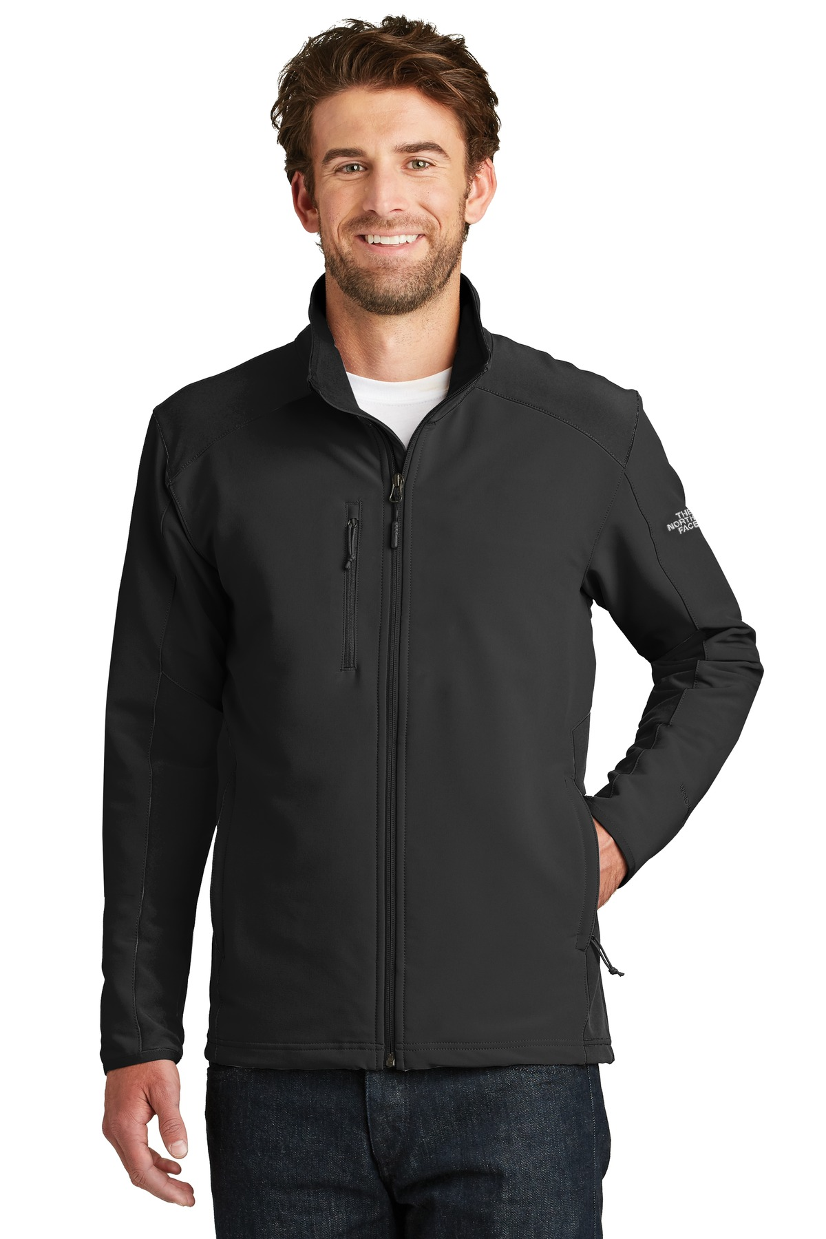 The North Face  ®  Tech Stretch Soft Shell Jacket. NF0A3LGV - TNF Black