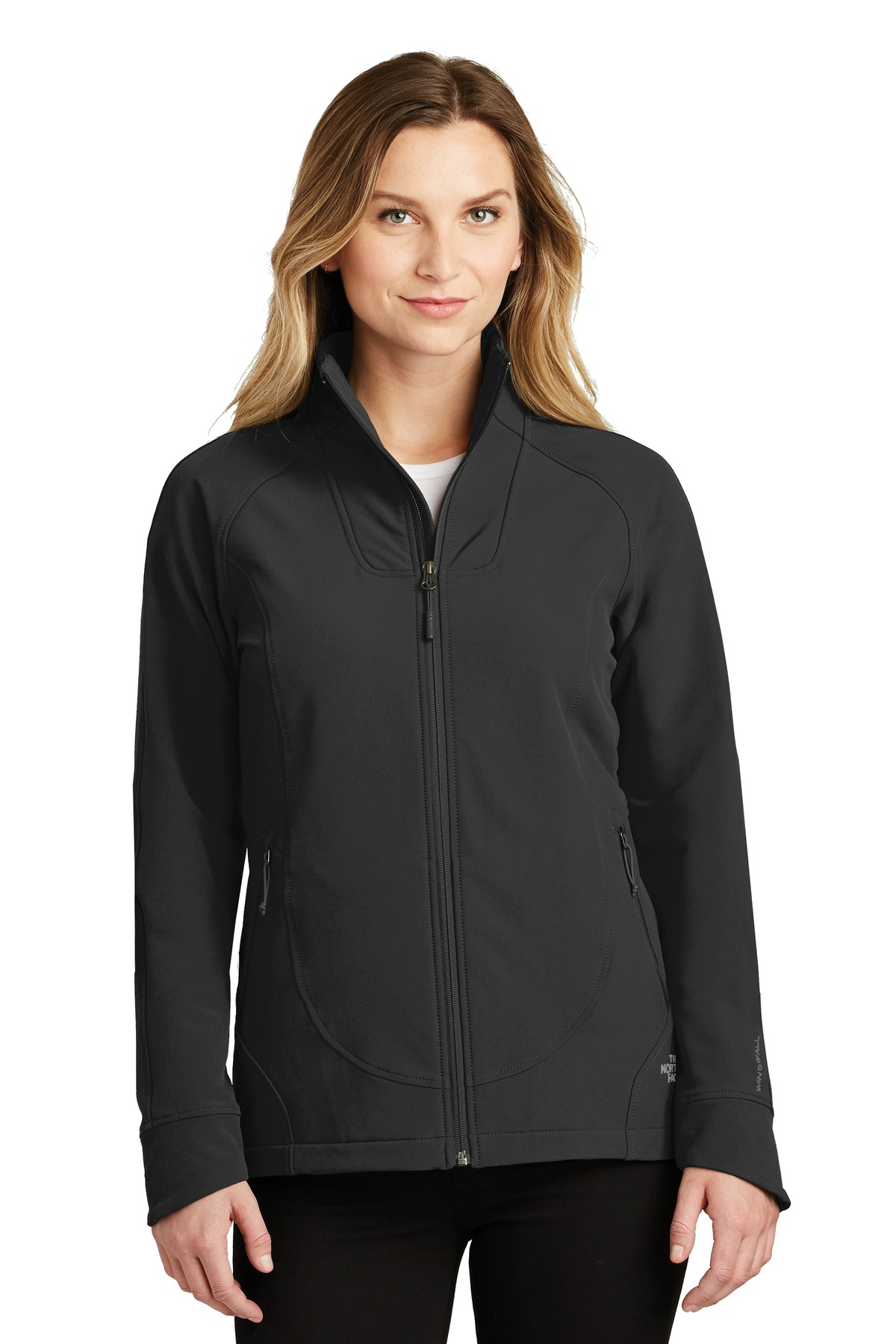 The North Face  ®  Ladies Tech Stretch Soft Shell Jacket. NF0A3LGW - TNF Black