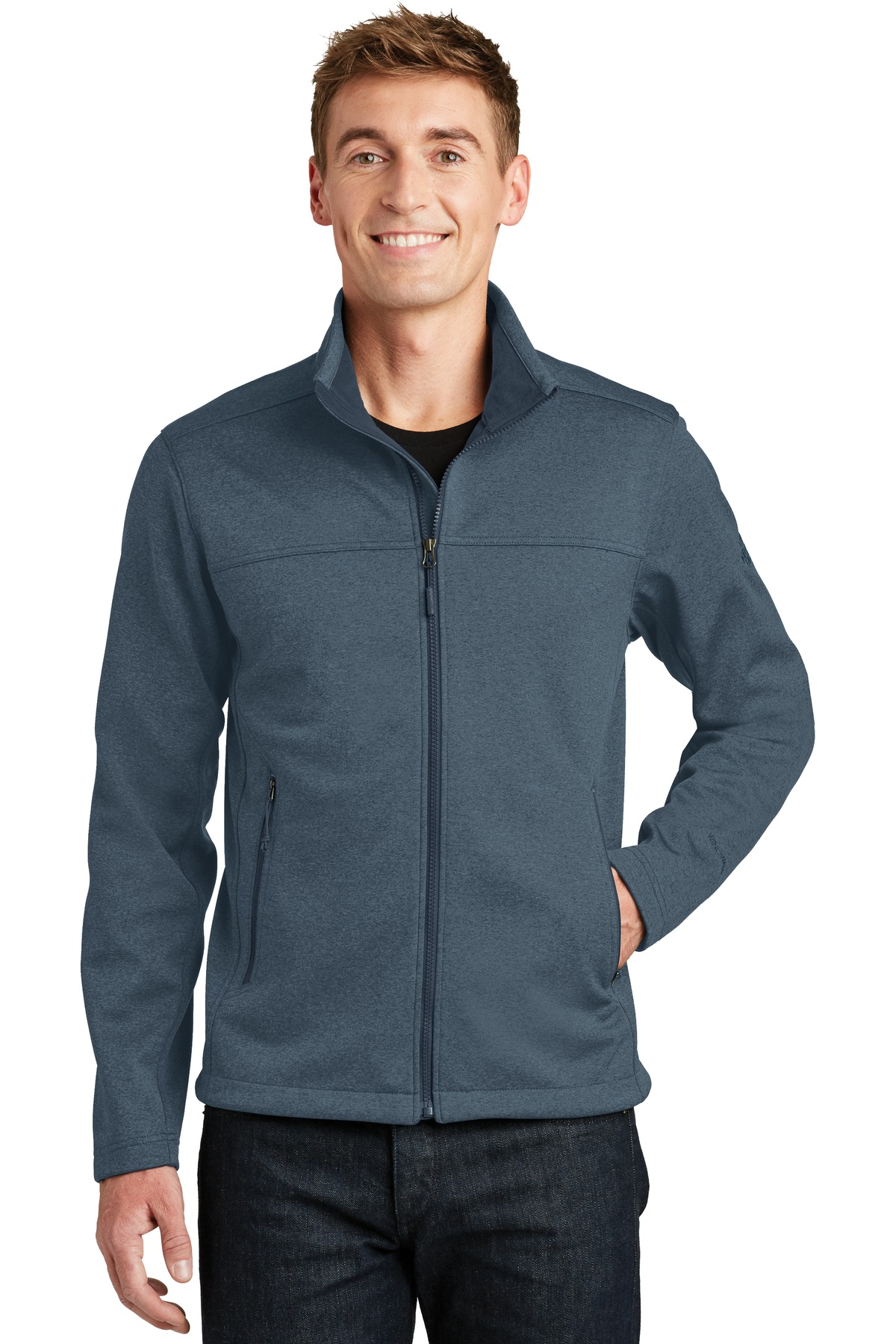 The North Face  ®  Ridgewall Soft Shell Jacket. NF0A3LGX - Urban Navy Heather