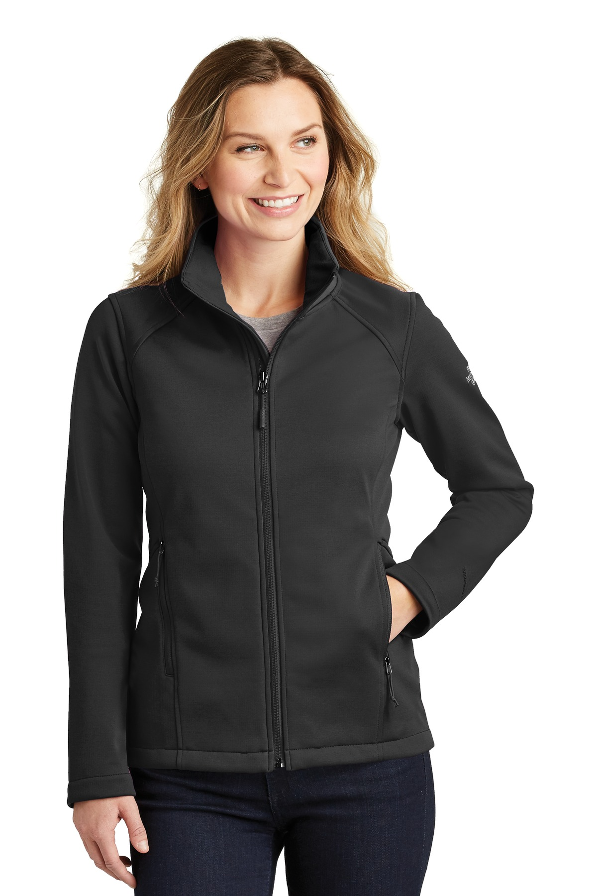 The North Face  ®  Ladies Ridgewall Soft Shell Jacket. NF0A3LGY - TNF Black