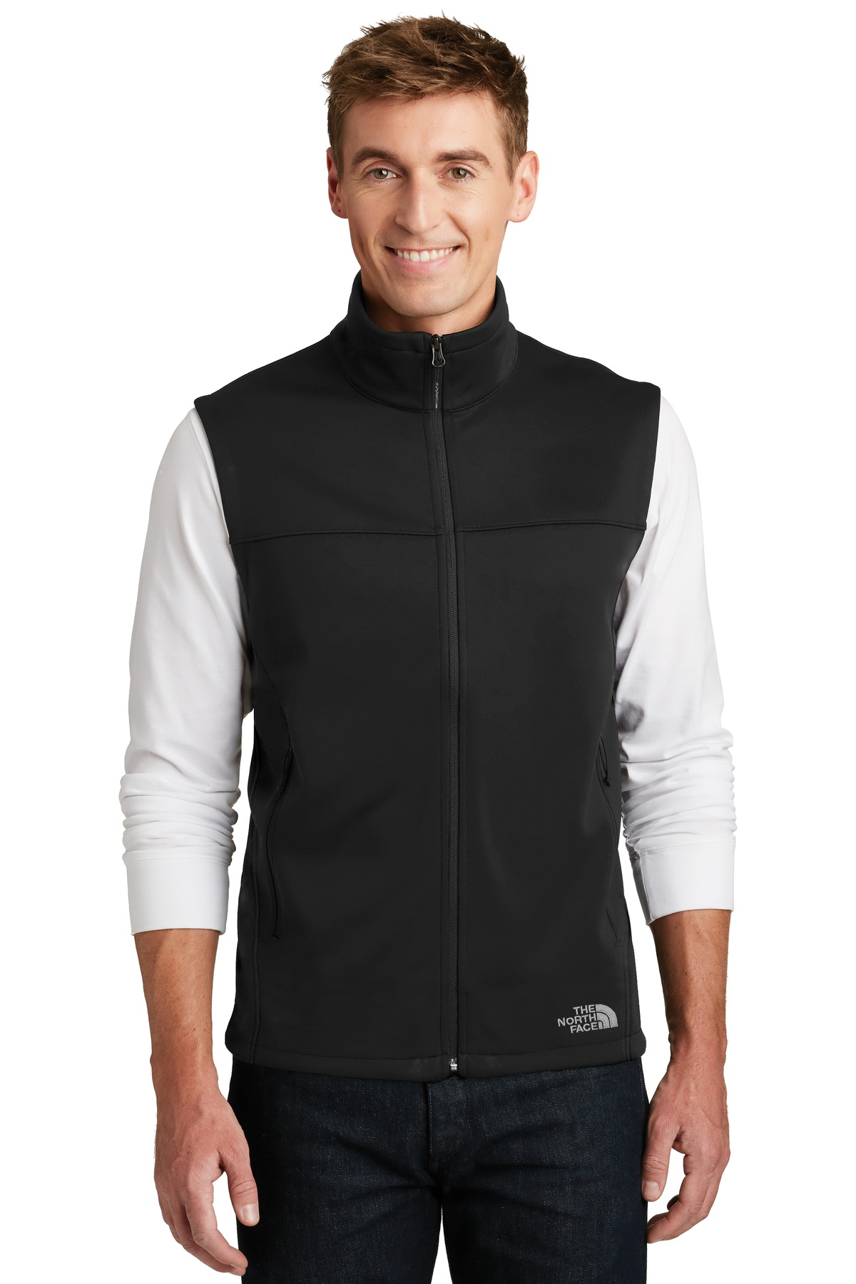 The North Face  ®  Ridgewall Soft Shell Vest. NF0A3LGZ - TNF Black