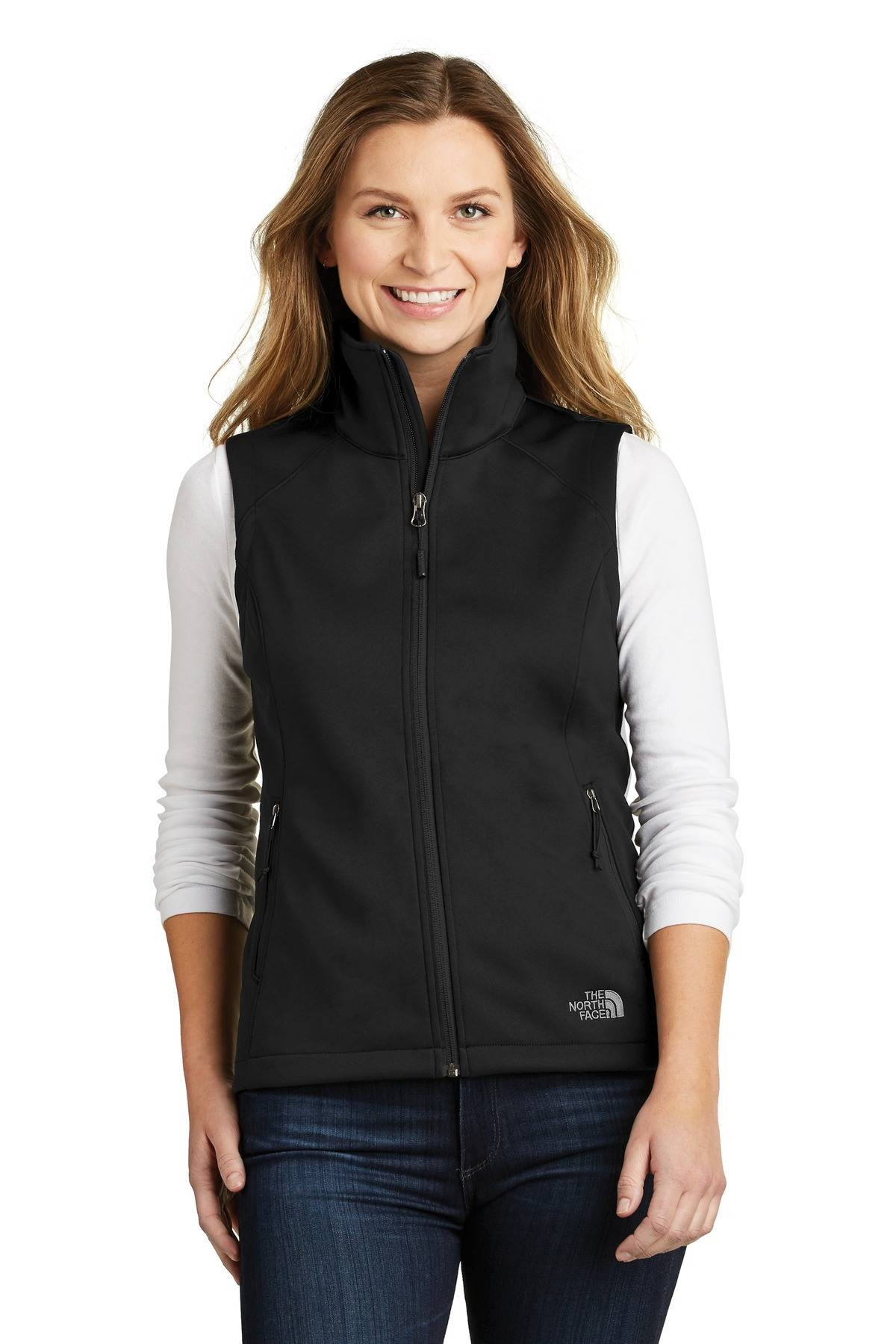 The North Face  ®  Ladies Ridgewall Soft Shell Vest. NF0A3LH1 - TNF Black
