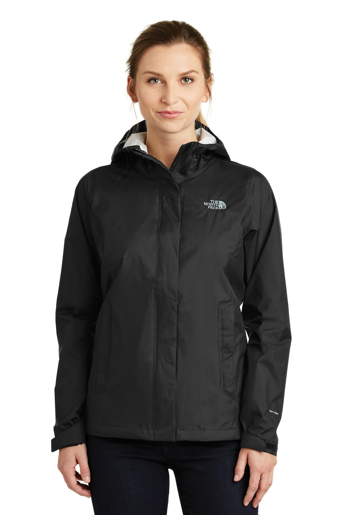 The North Face  ®  Ladies DryVent ™  Rain Jacket. NF0A3LH5 - TNF Black