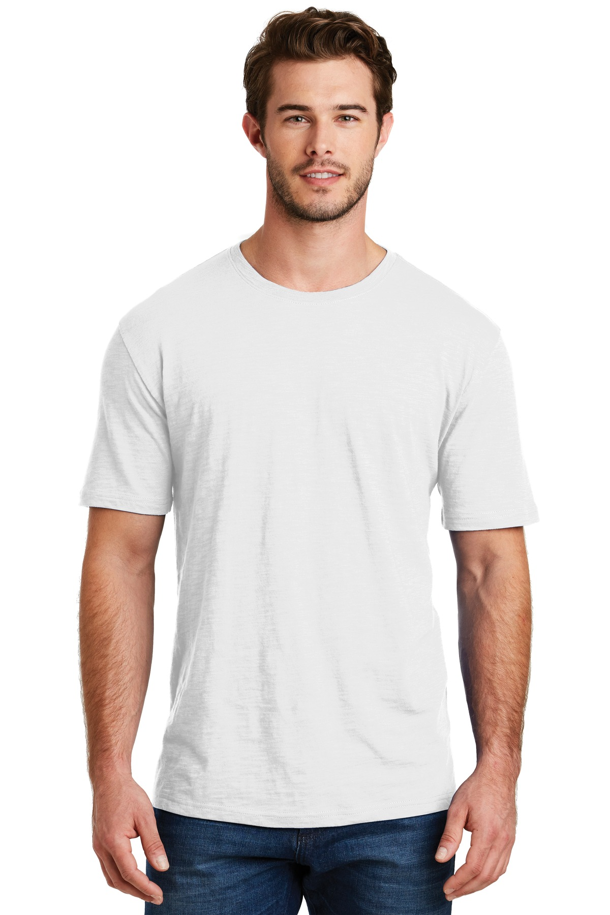 District ®  Perfect Blend ® Tee. DM108 - White