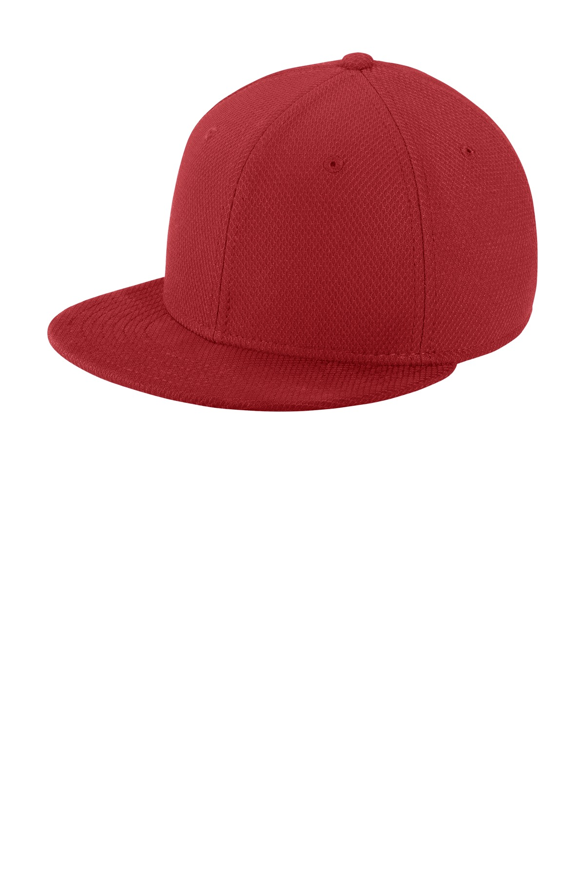 New Era  ®  Youth Original Fit Diamond Era Flat Bill Snapback Cap. NE304 - Crimson