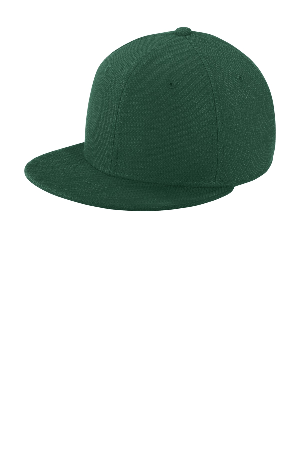 New Era  ®  Youth Original Fit Diamond Era Flat Bill Snapback Cap. NE304 - Dark Green