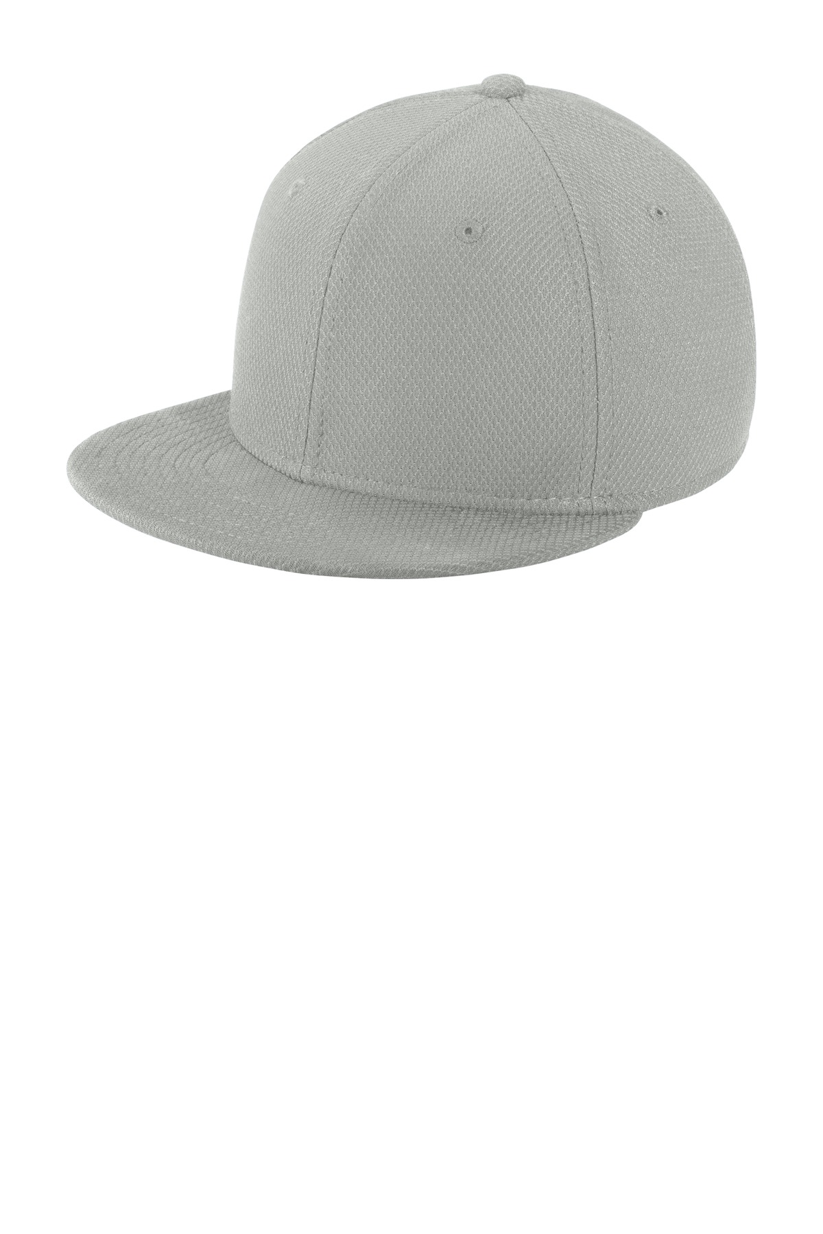New Era  ®  Youth Original Fit Diamond Era Flat Bill Snapback Cap. NE304 - Grey