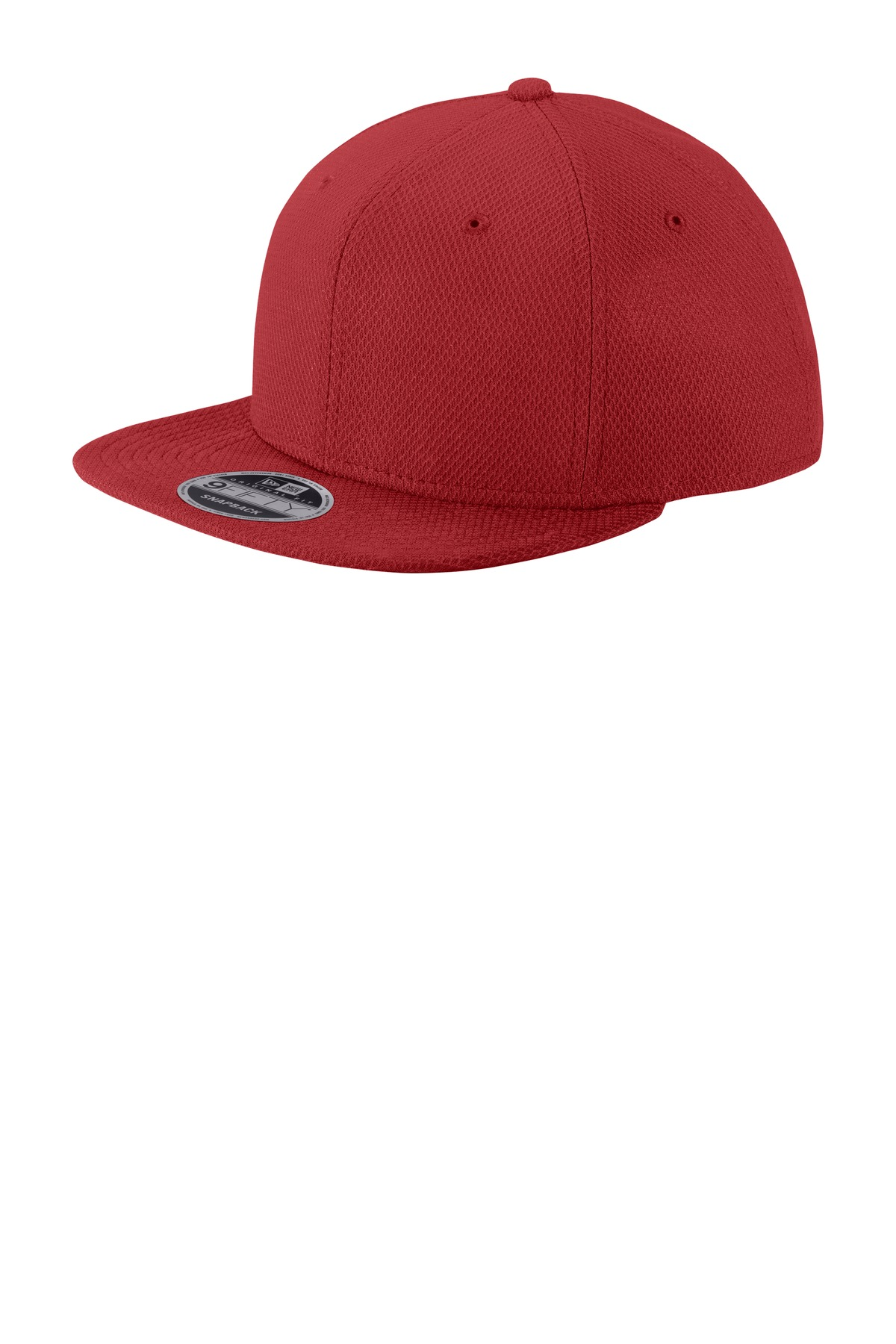 New Era  ®  Original Fit Diamond Era Flat Bill Snapback Cap. NE404 - Crimson
