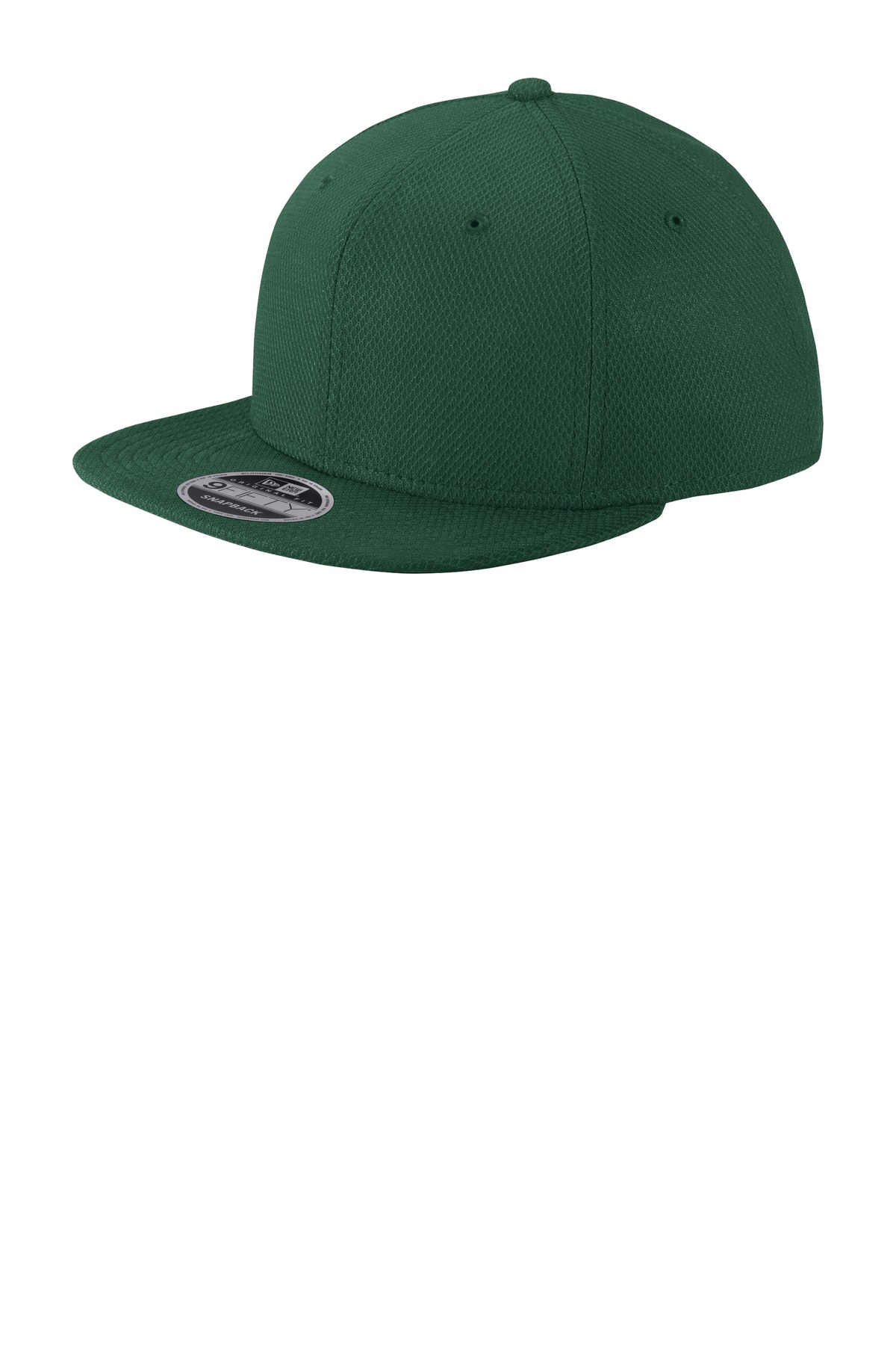 New Era  ®  Original Fit Diamond Era Flat Bill Snapback Cap. NE404 - Dark Green