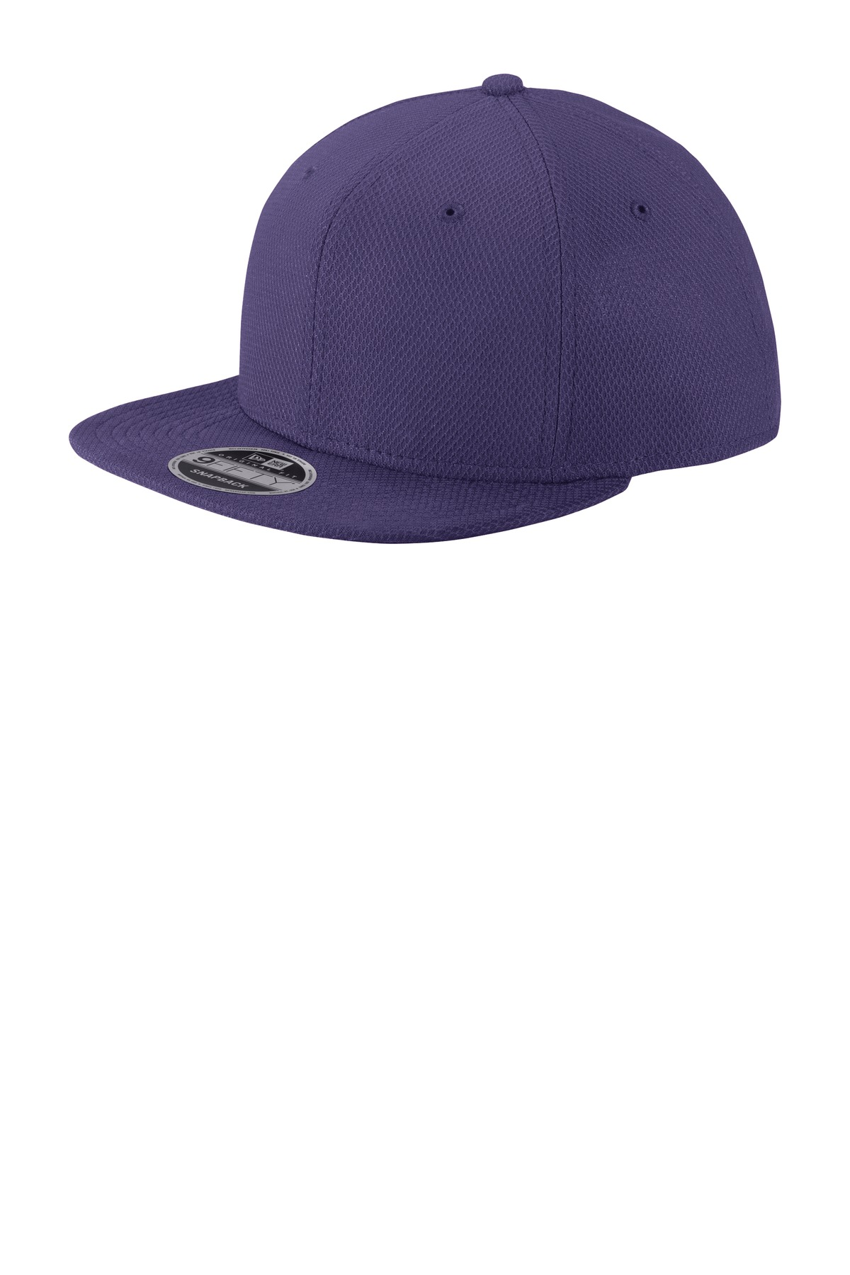 New Era  ®  Original Fit Diamond Era Flat Bill Snapback Cap. NE404 - Purple
