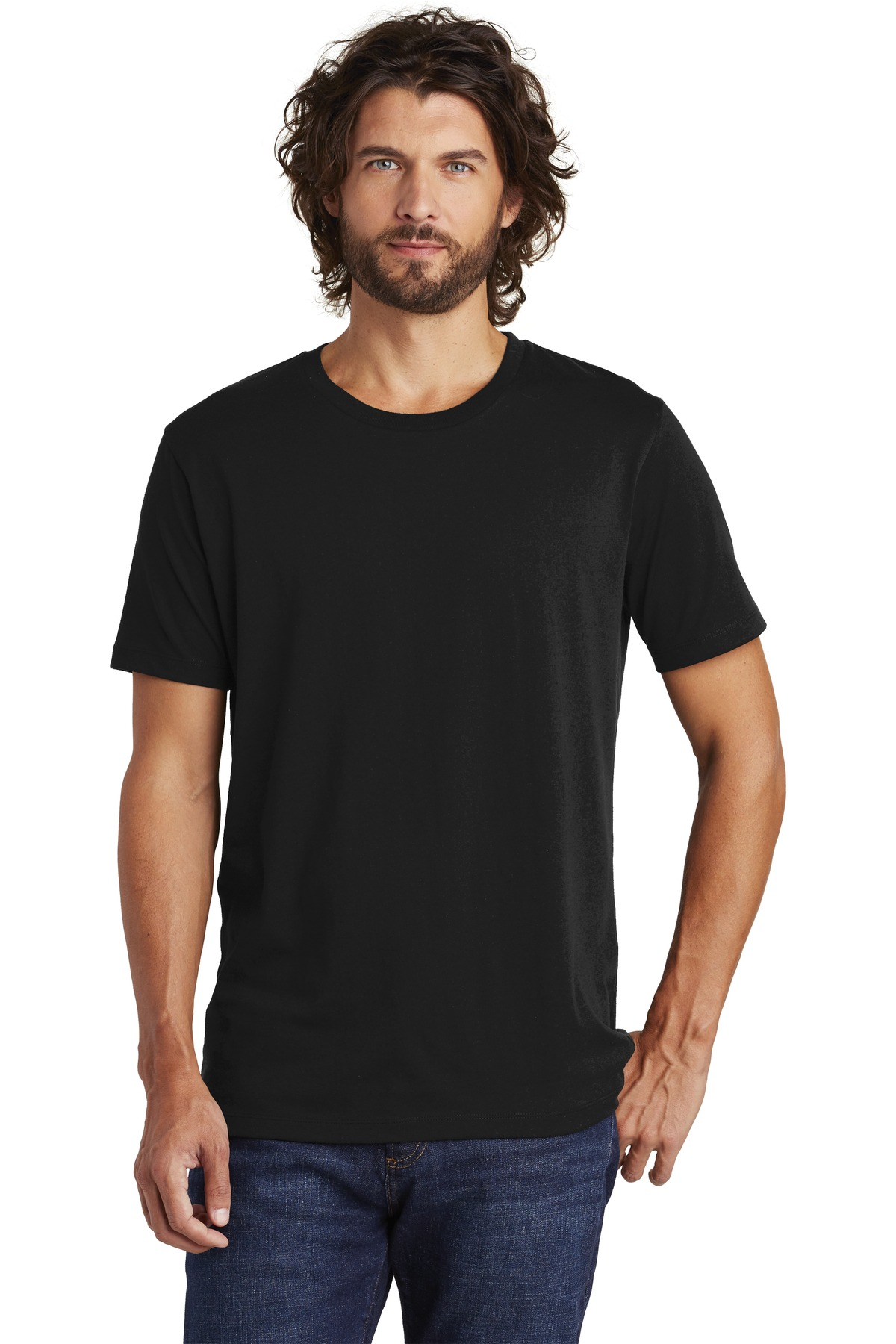 Alternative Rebel Blended Jersey Tee. AA6040 - Black