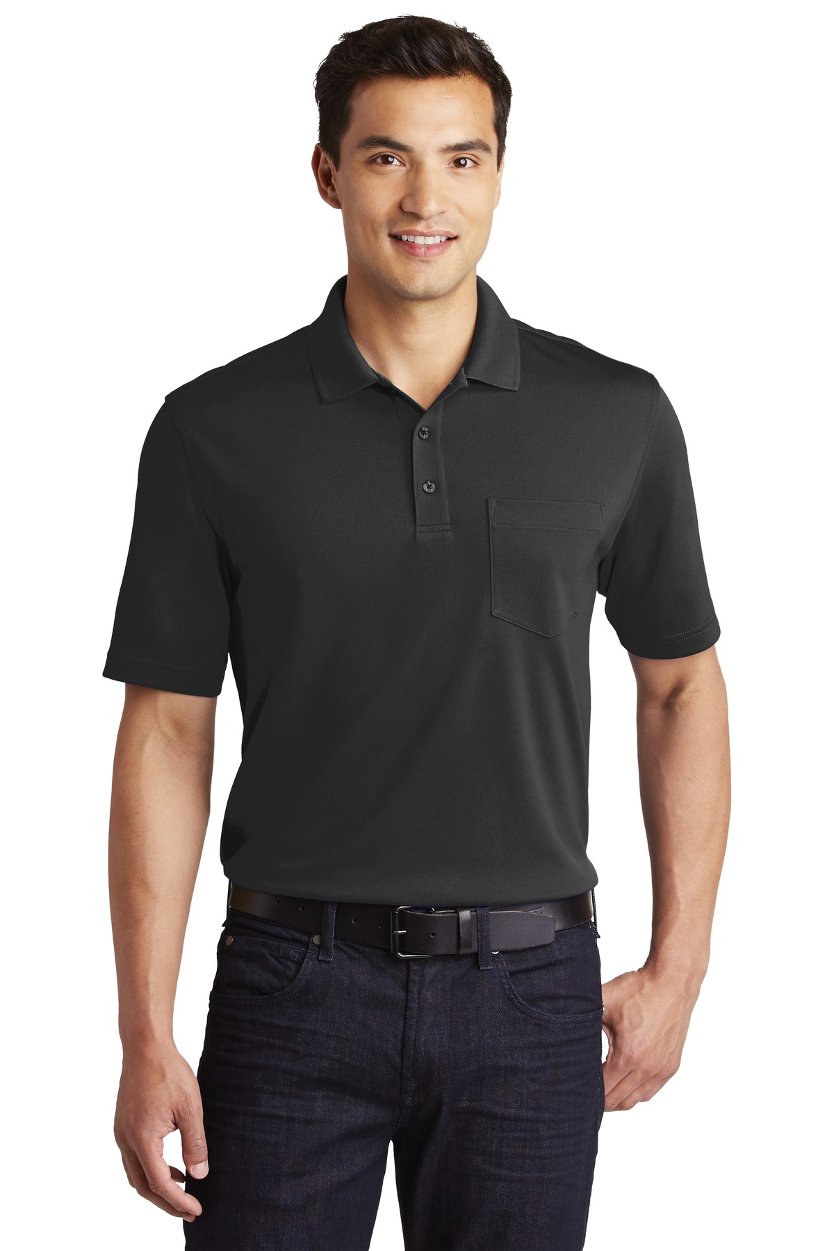 Port Authority Dry Zone UV Micro-Mesh Pocket Polo. K110P