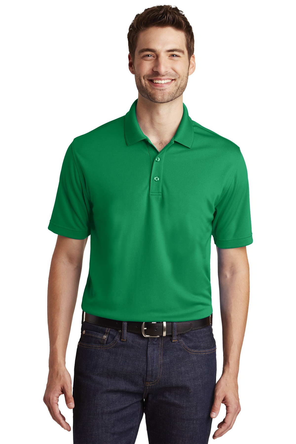 Port Authority ®  Dry Zone ®  UV Micro-Mesh Polo. K110 - Bright Kelly Green