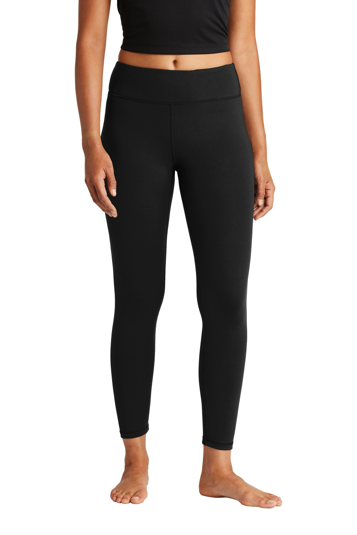 Sport-Tek  ®  Ladies 7/8 Legging. LPST890 - Black