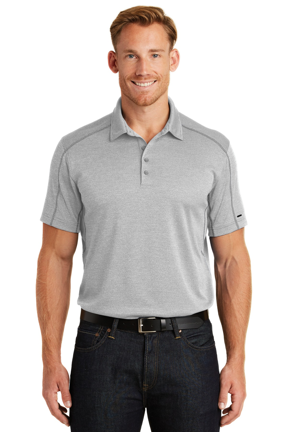 OGIO  ®  Orbit Polo. OG133 - Rogue Grey/ White