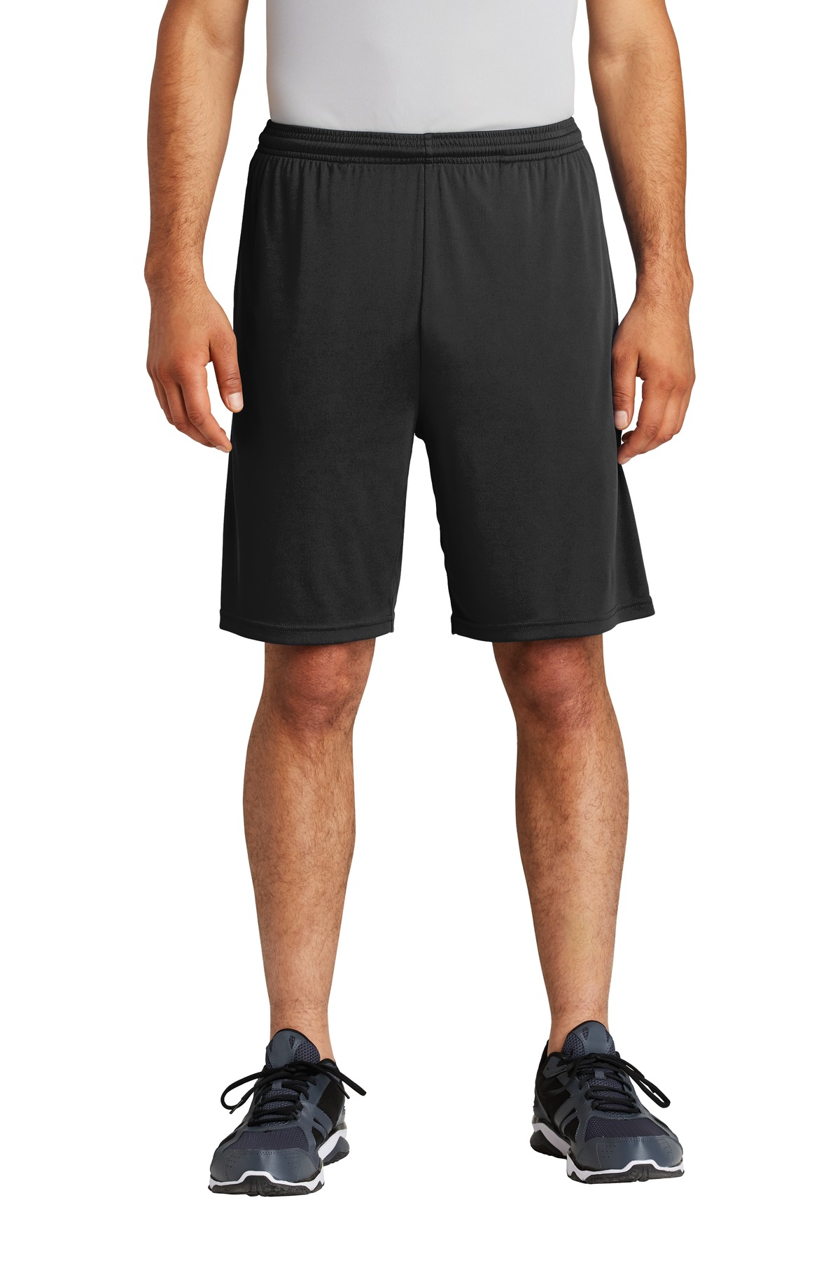 Sport-Tek  ®  PosiCharge  ®  Competitor  ™  Pocketed Short. ST355P - Black