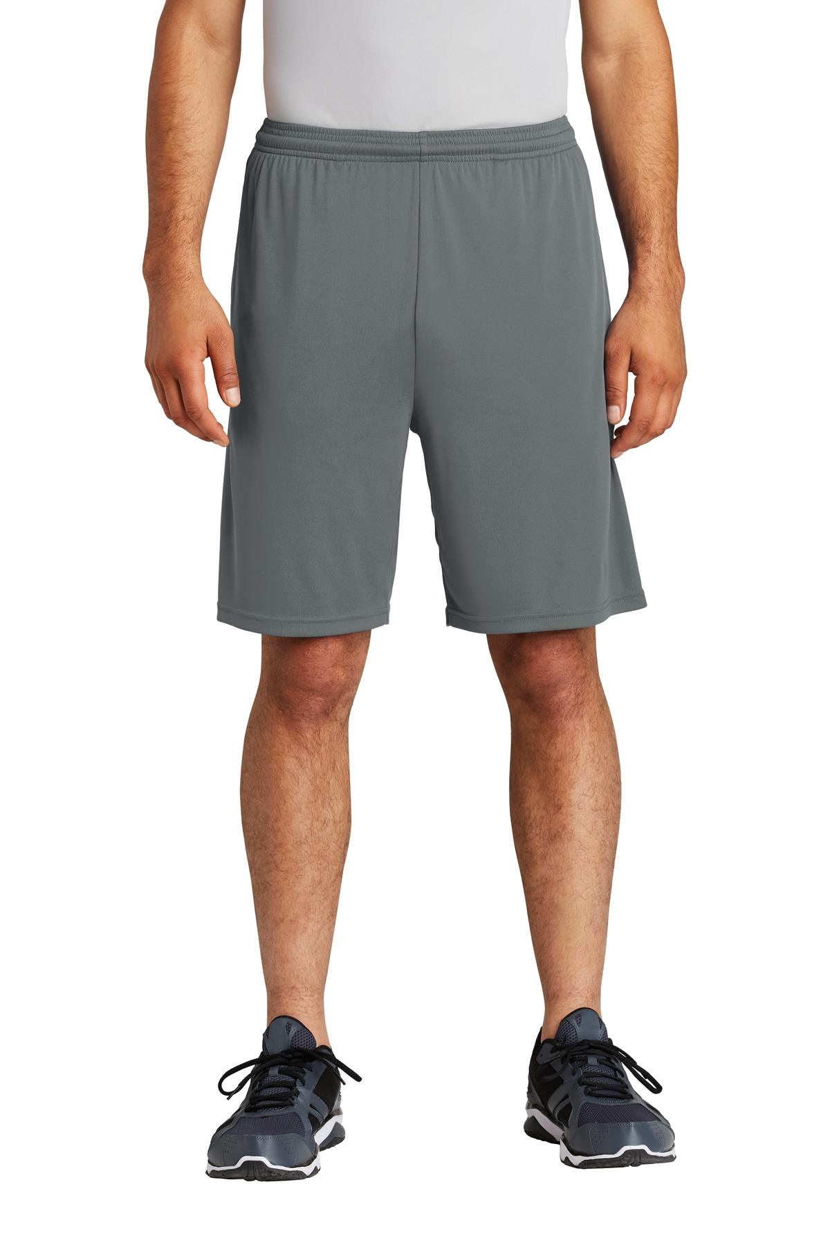 Sport-Tek  ®  PosiCharge  ®  Competitor  ™  Pocketed Short. ST355P - Iron Grey