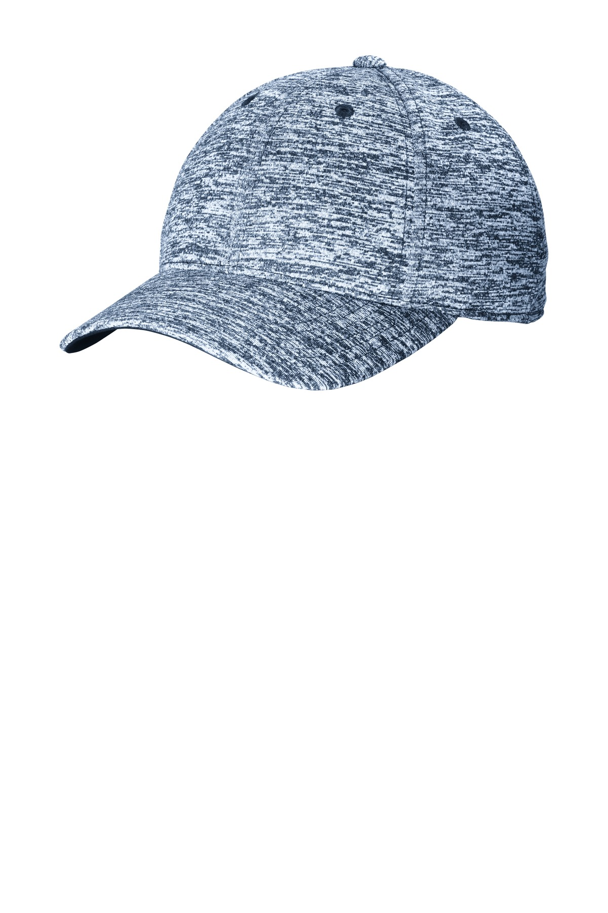 Sport-Tek ®  PosiCharge ®  Electric Heather Cap. STC34 - True Navy Electric