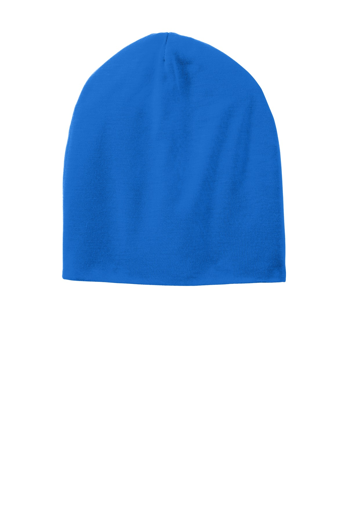 Sport-Tek ®  PosiCharge ®  Competitor™ Cotton Touch™ Jersey Knit Slouch Beanie. STC35 - True Royal