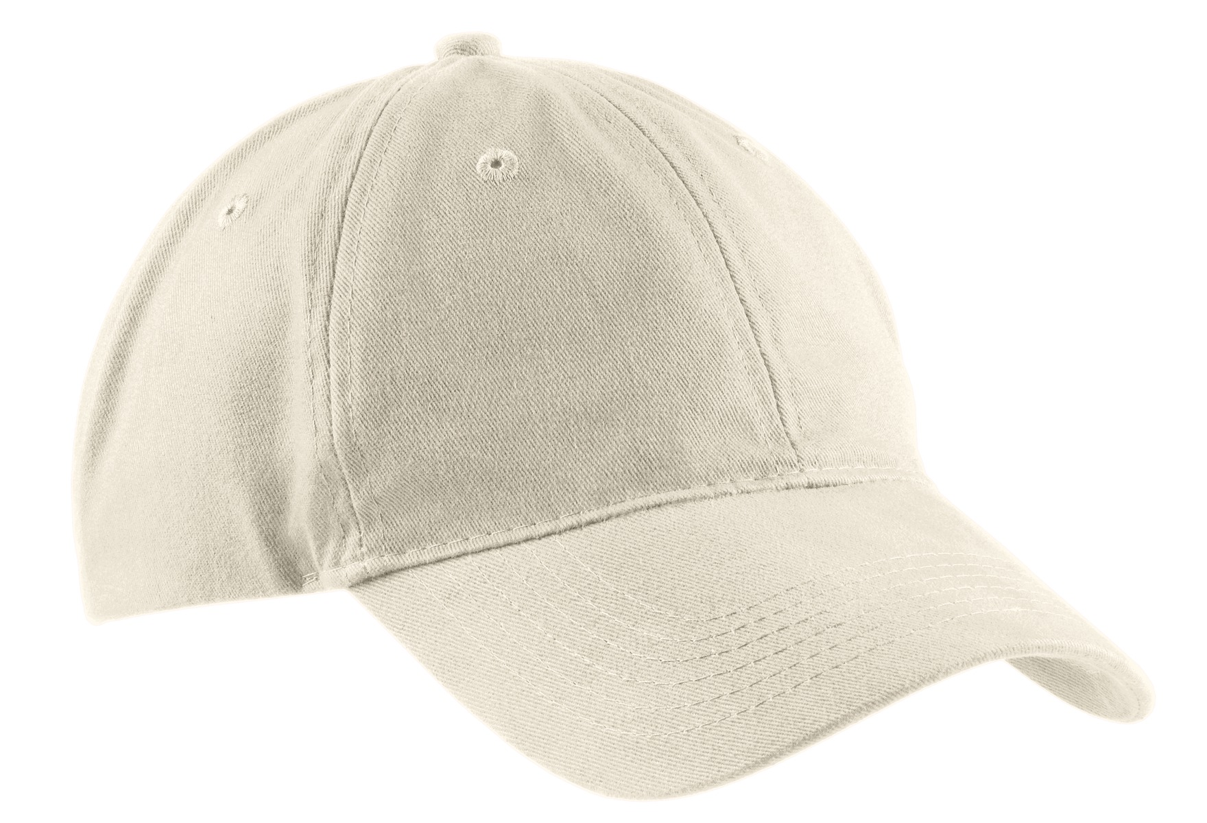 Port & Company ®  Brushed Twill Low Profile Cap.  CP77 - Stone