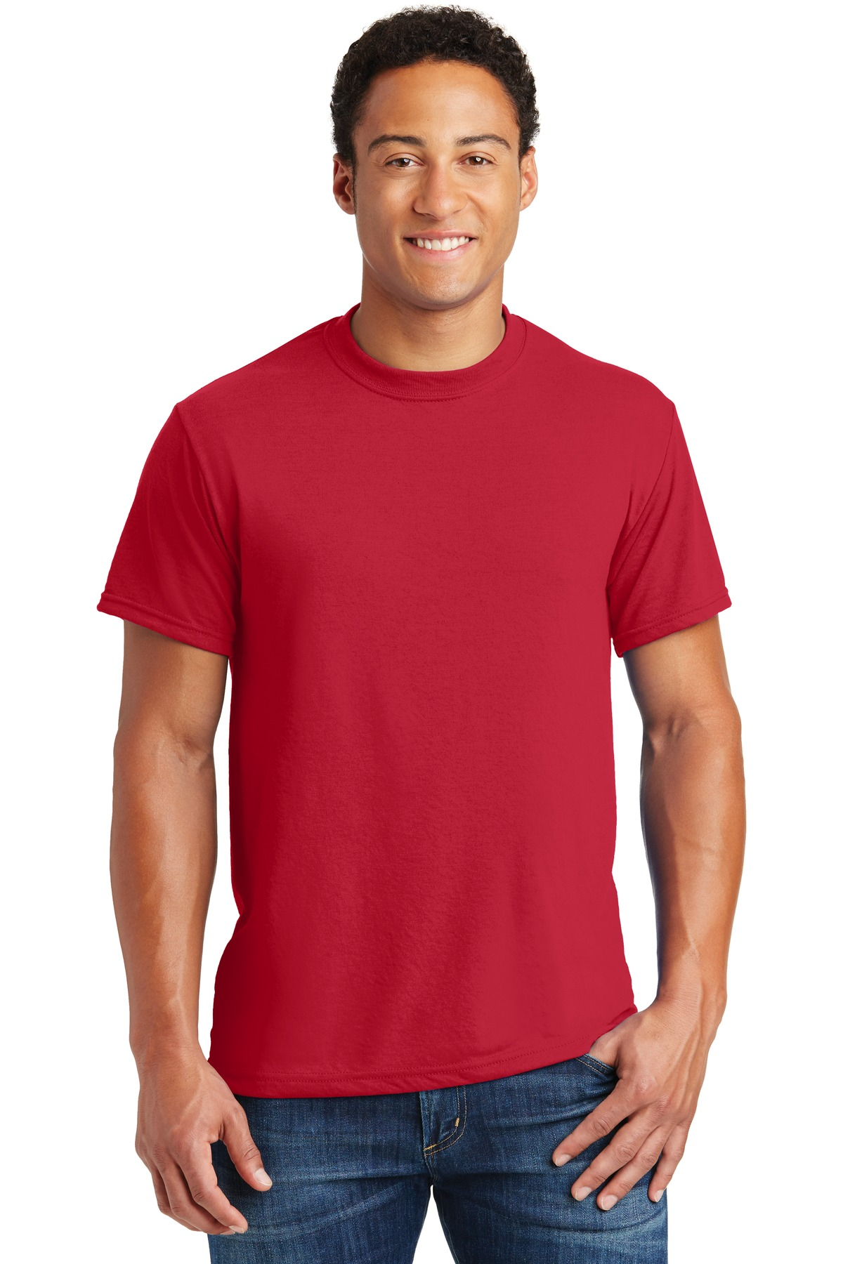 JERZEES ®  Dri-Power ®  Sport 100% Polyester T-Shirt. 21M - True Red