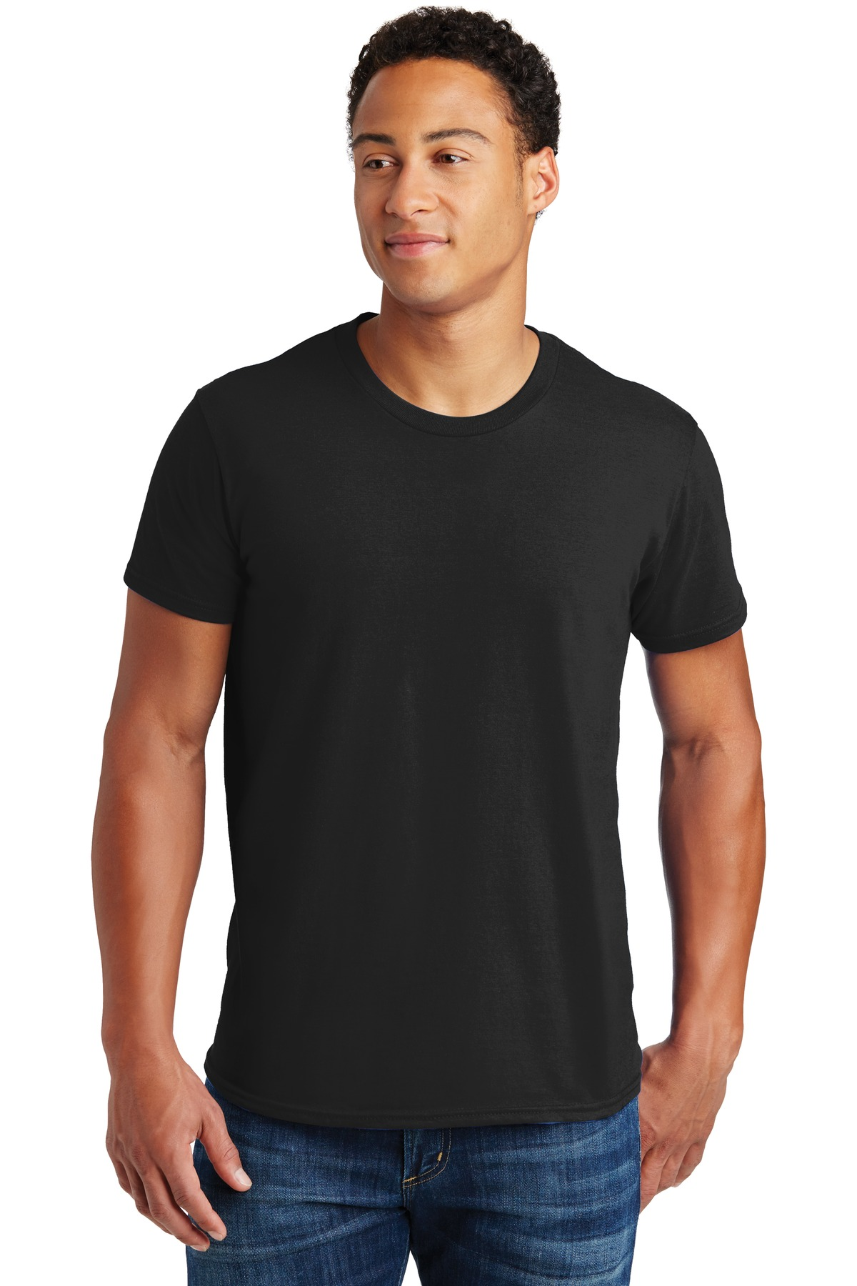 Hanes ®  - Nano-T ®  Cotton T-Shirt. 4980 - Black