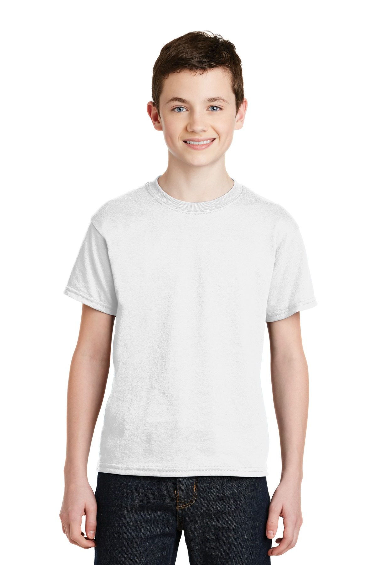 Gildan youth dryblend 50 cotton 50 poly t shirt for Gildan dryblend 50 cotton 50 poly t shirt 8000