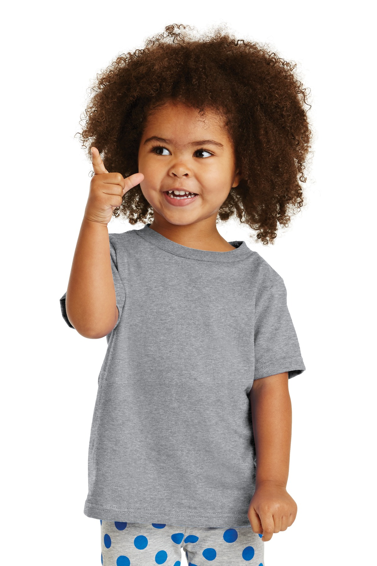Port and Company Toddler Core Cotton Tee. CAR54T