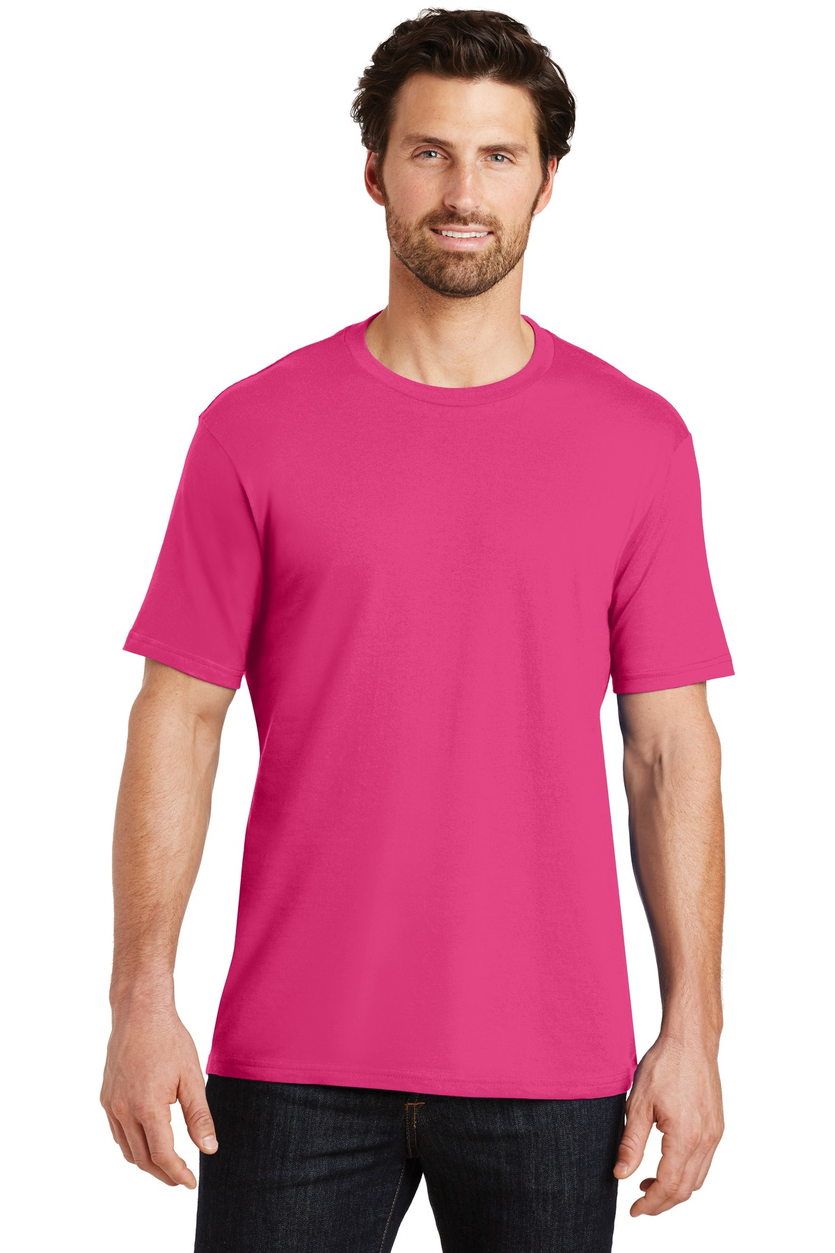 District ®  Perfect Weight ® Tee. DT104 - Dark Fuchsia