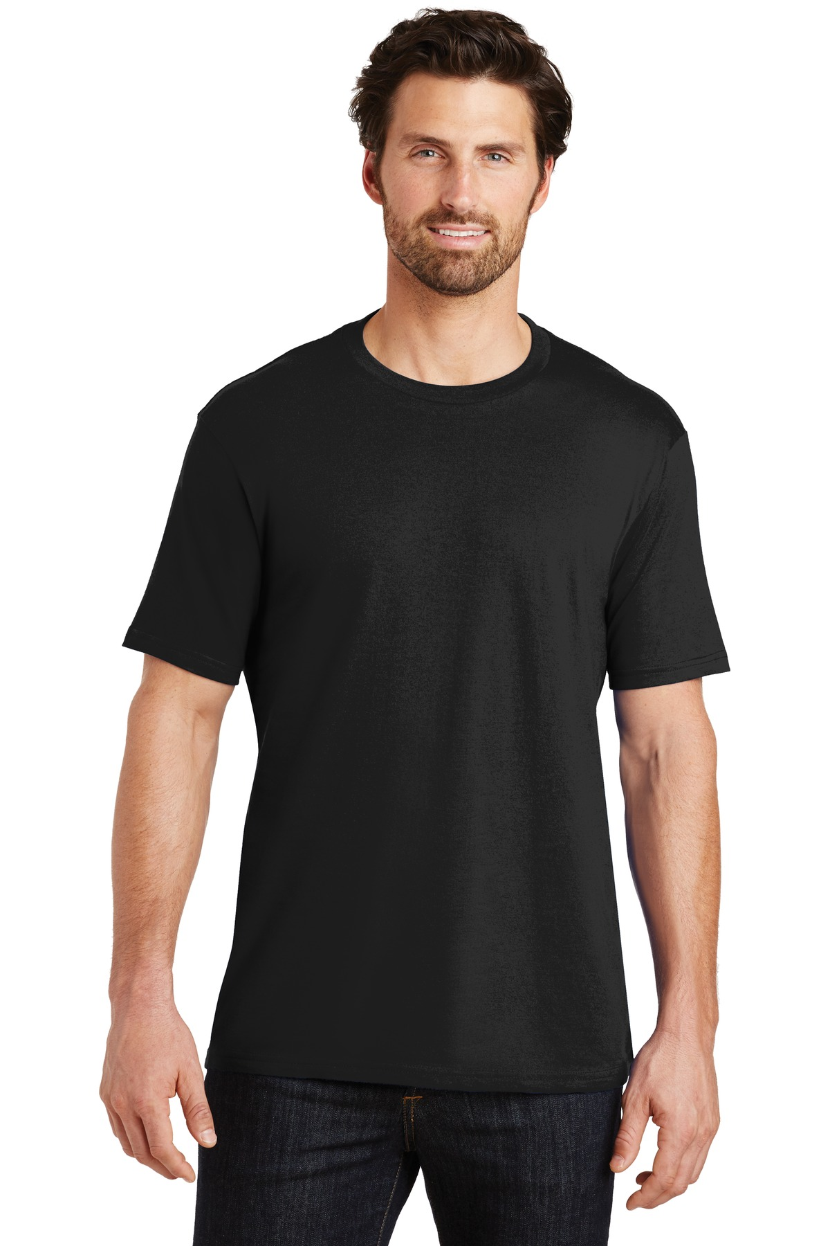 District ®  Perfect Weight ® Tee. DT104 - Jet Black