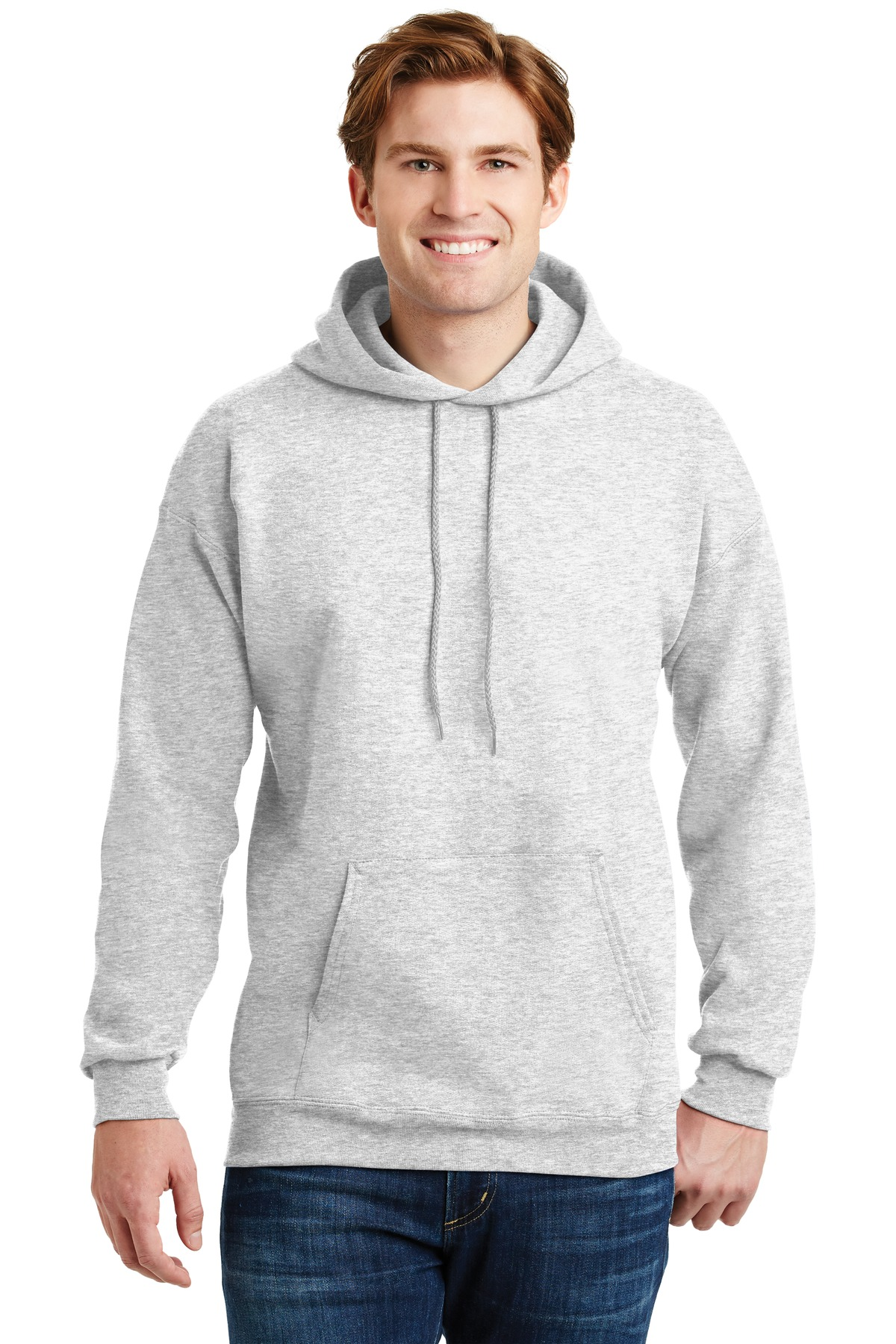 Hanes ®  Ultimate Cotton ®  - Pullover Hooded Sweatshirt.  F170 - Ash