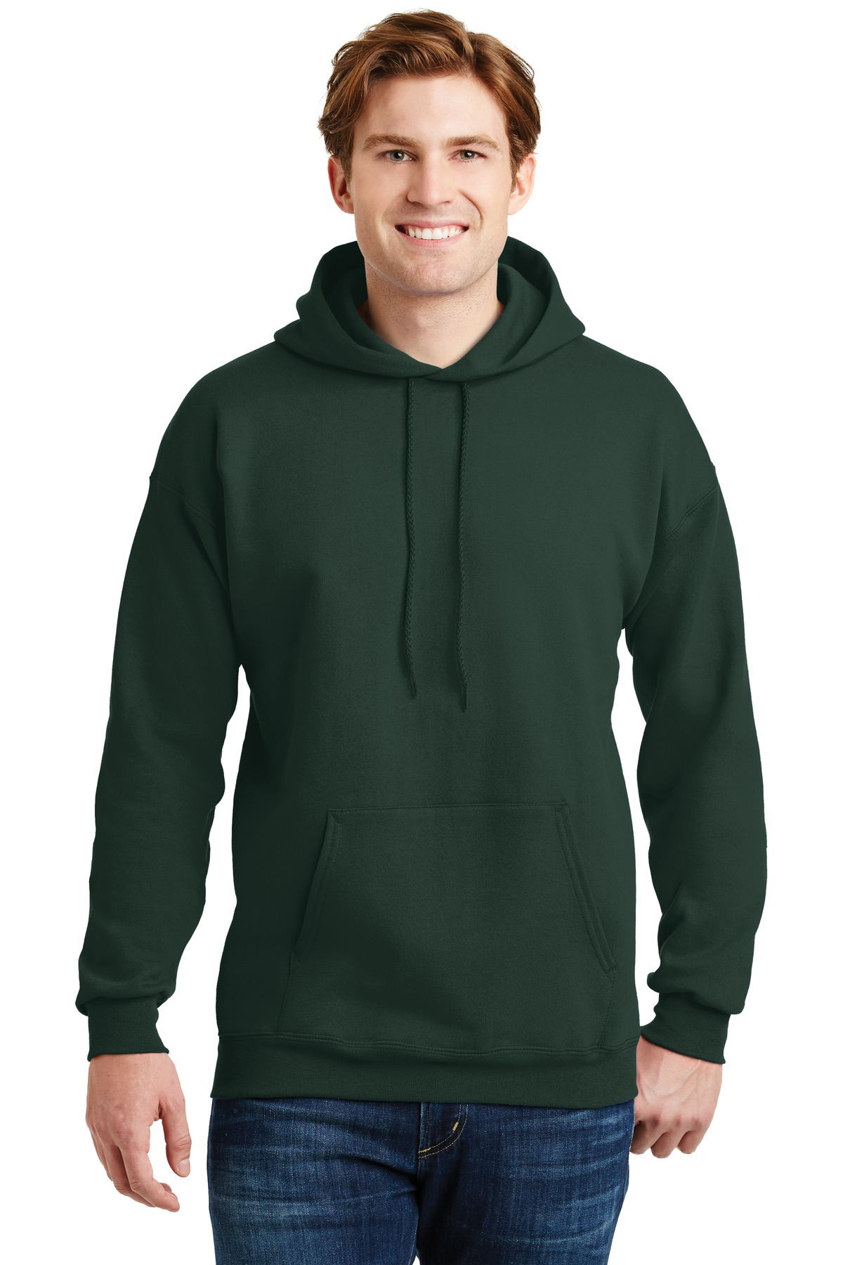 Hanes ®  Ultimate Cotton ®  - Pullover Hooded Sweatshirt.  F170 - Deep Forest