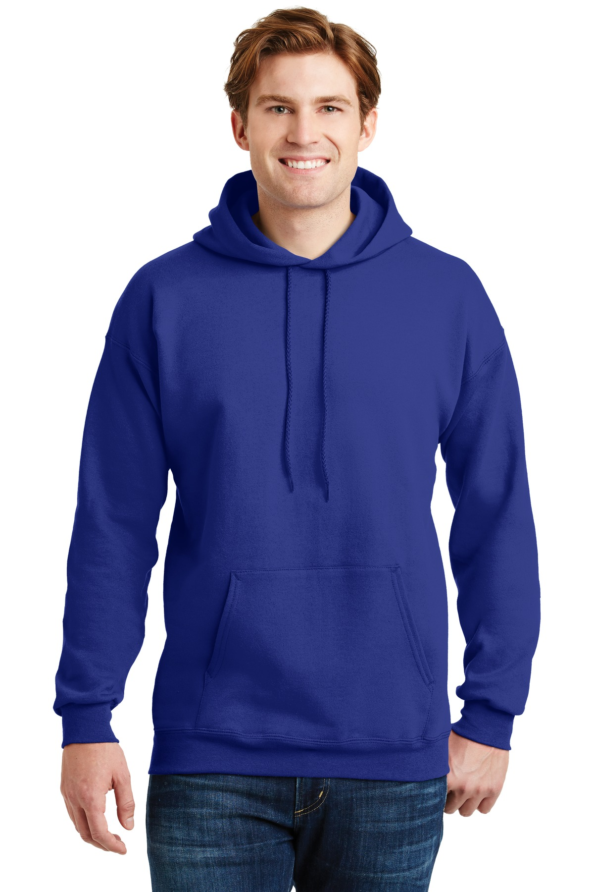 Hanes ®  Ultimate Cotton ®  - Pullover Hooded Sweatshirt.  F170 - Deep Royal