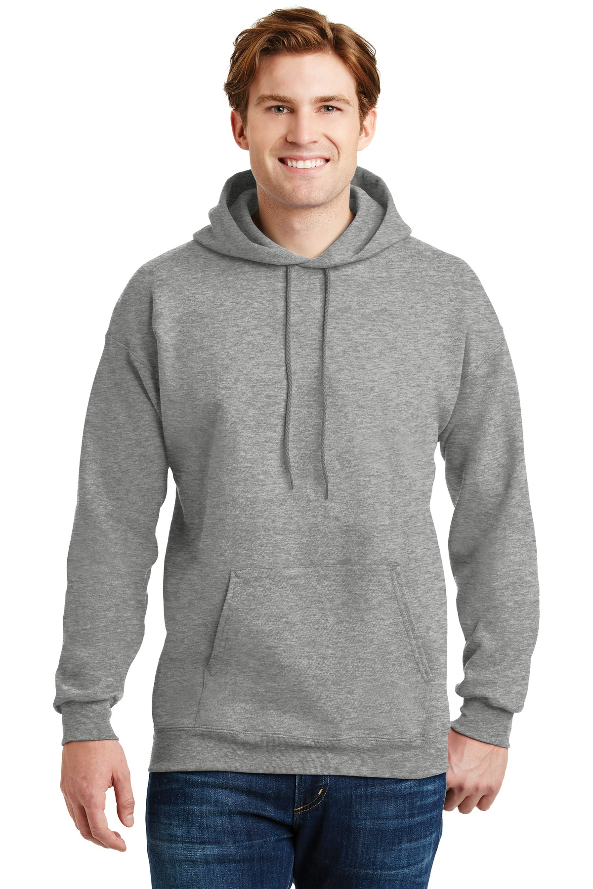 Hanes ®  Ultimate Cotton ®  - Pullover Hooded Sweatshirt.  F170 - Light Steel