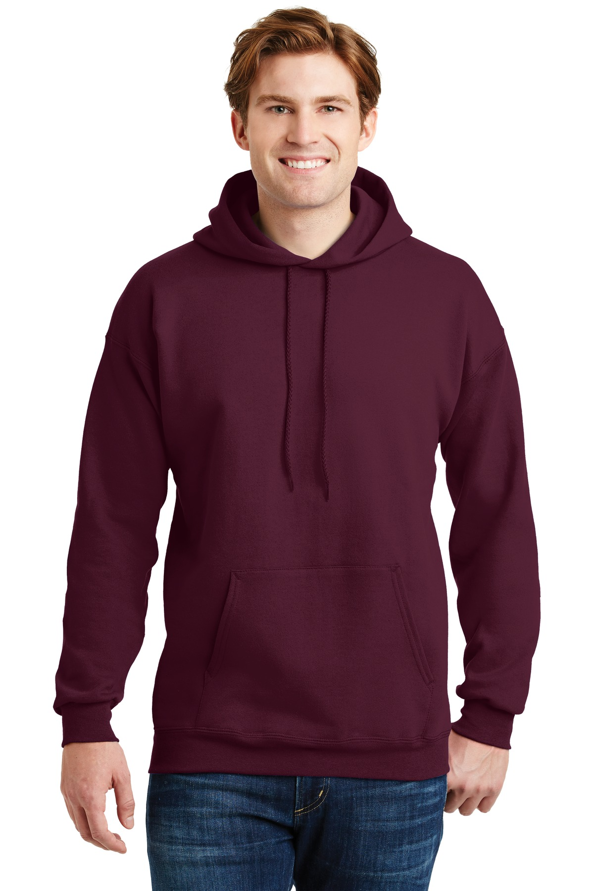 Hanes ®  Ultimate Cotton ®  - Pullover Hooded Sweatshirt.  F170 - Maroon