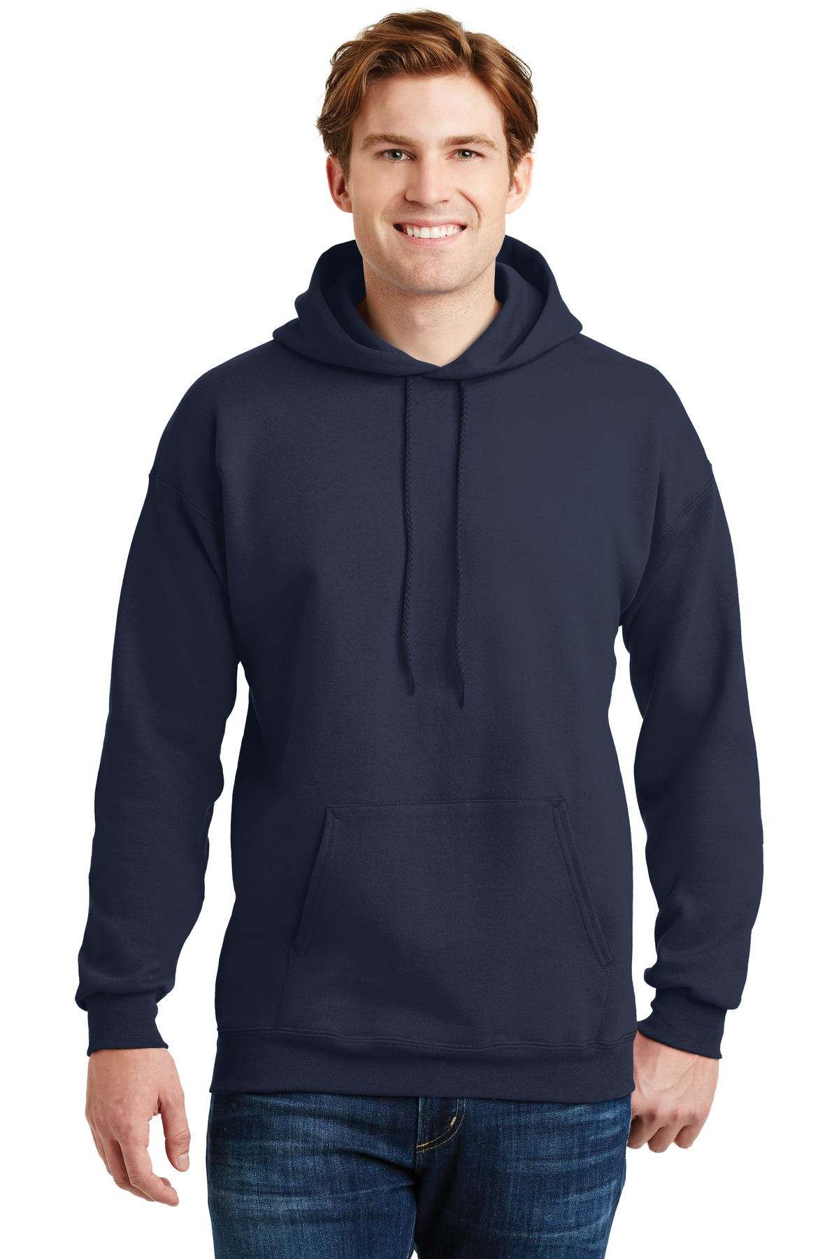 Hanes ®  Ultimate Cotton ®  - Pullover Hooded Sweatshirt.  F170 - Navy