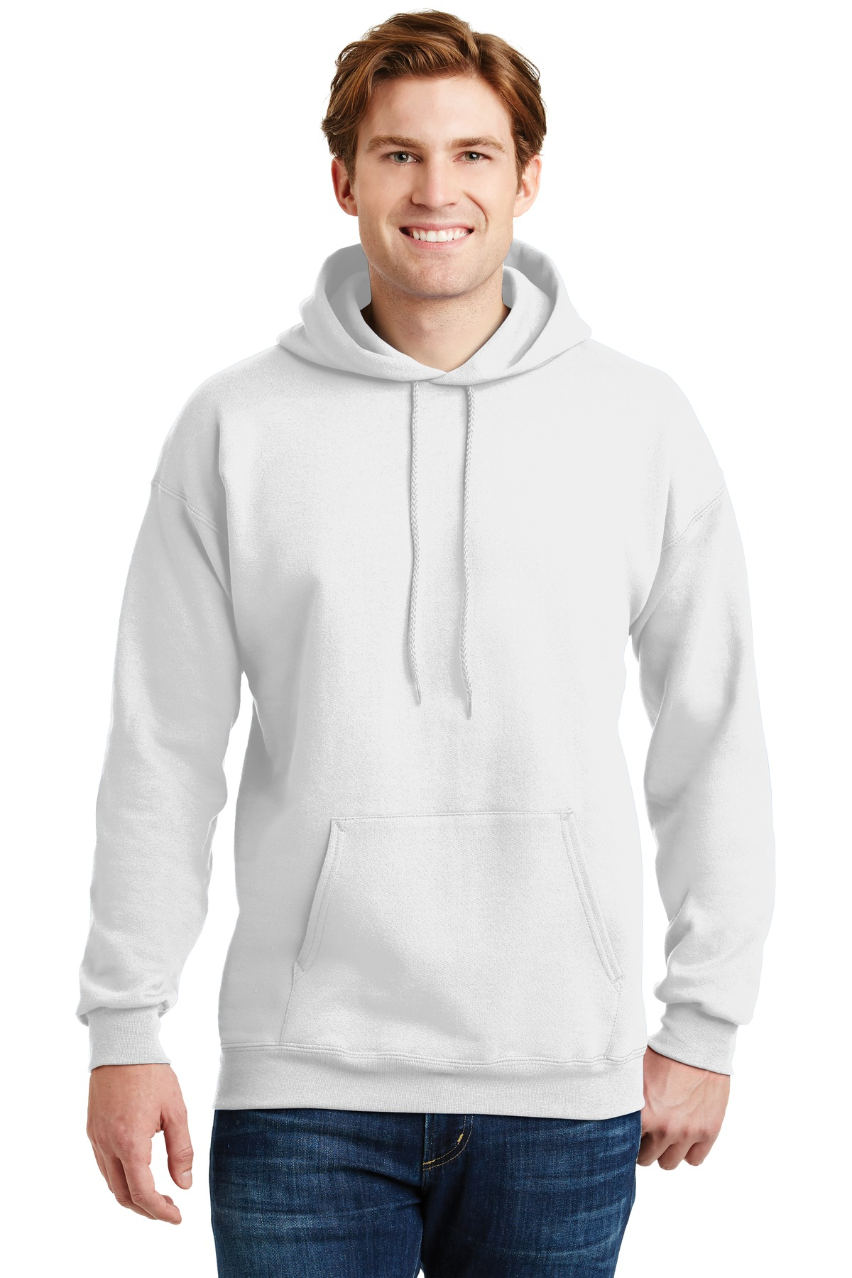 Hanes ®  Ultimate Cotton ®  - Pullover Hooded Sweatshirt.  F170 - White