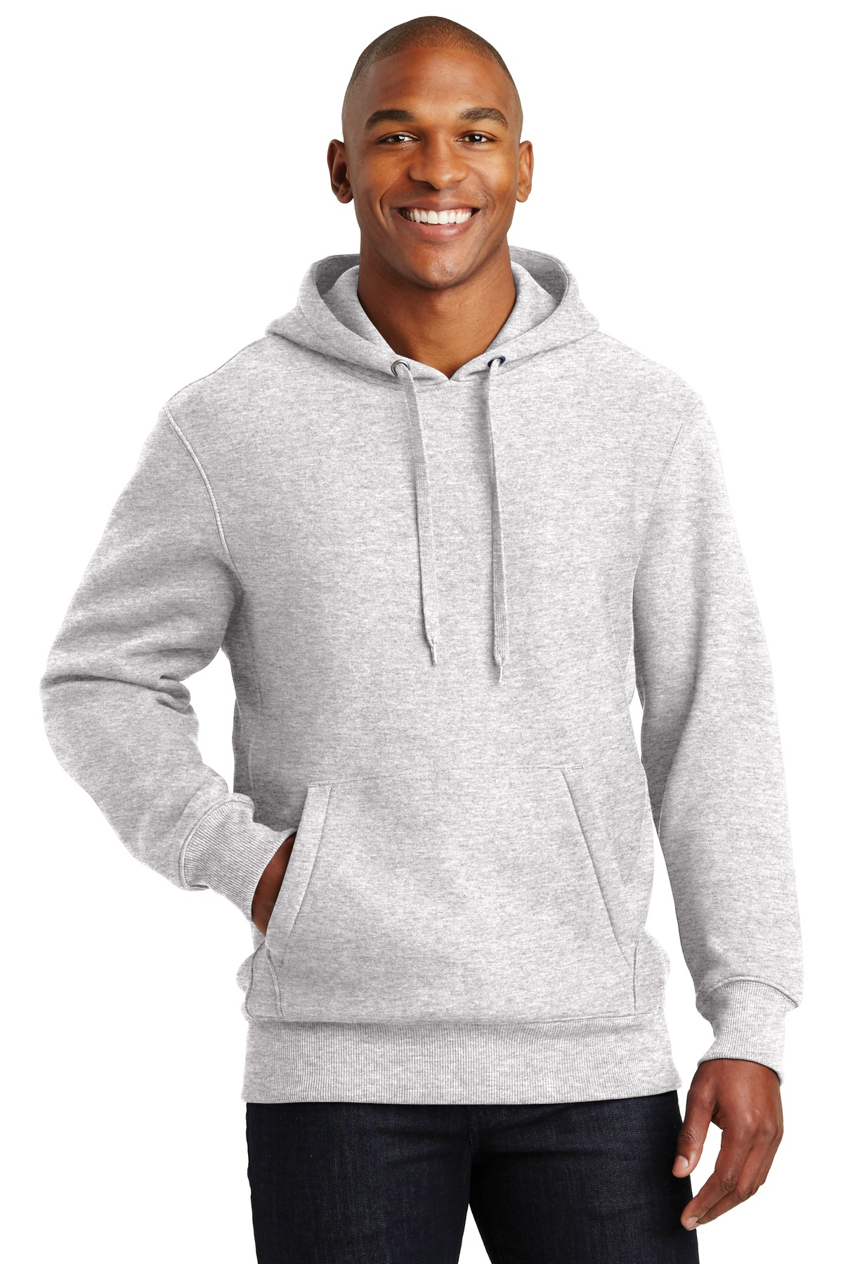 Sport-Tek ®  Super Heavyweight Pullover Hooded Sweatshirt.  F281 - Athletic Heather