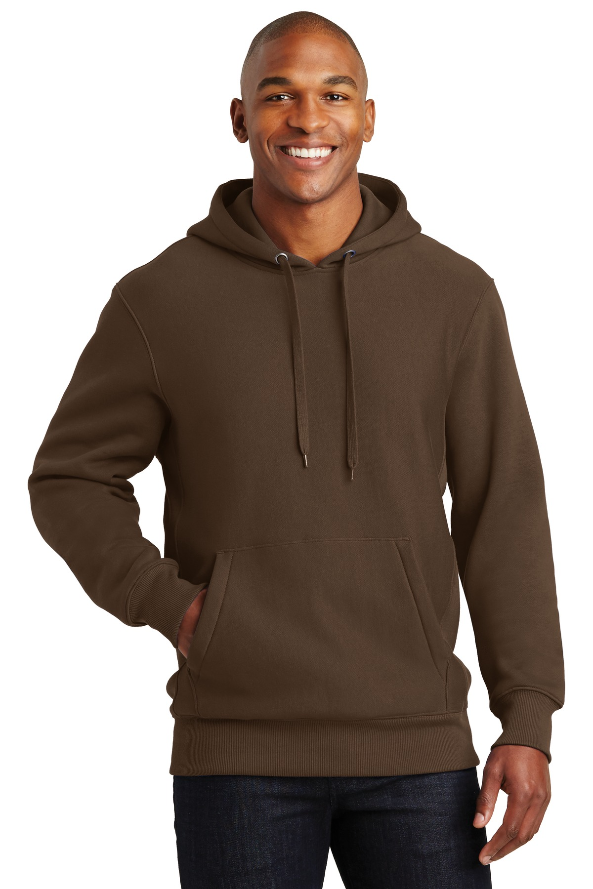 Sport-Tek ®  Super Heavyweight Pullover Hooded Sweatshirt.  F281 - Brown